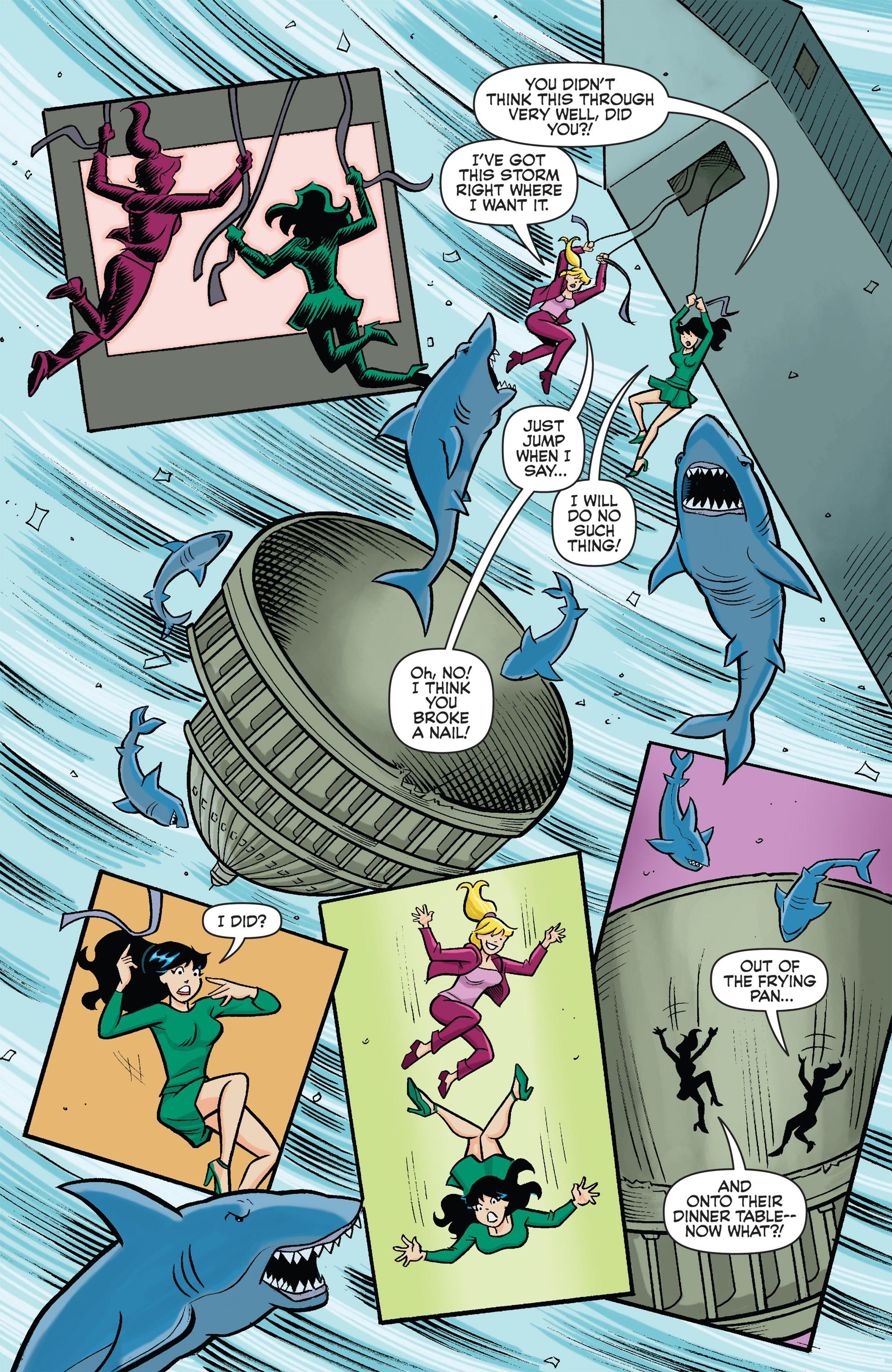 Read online Archie vs. Sharknado comic -  Issue #Archie vs. Sharknado Full - 9