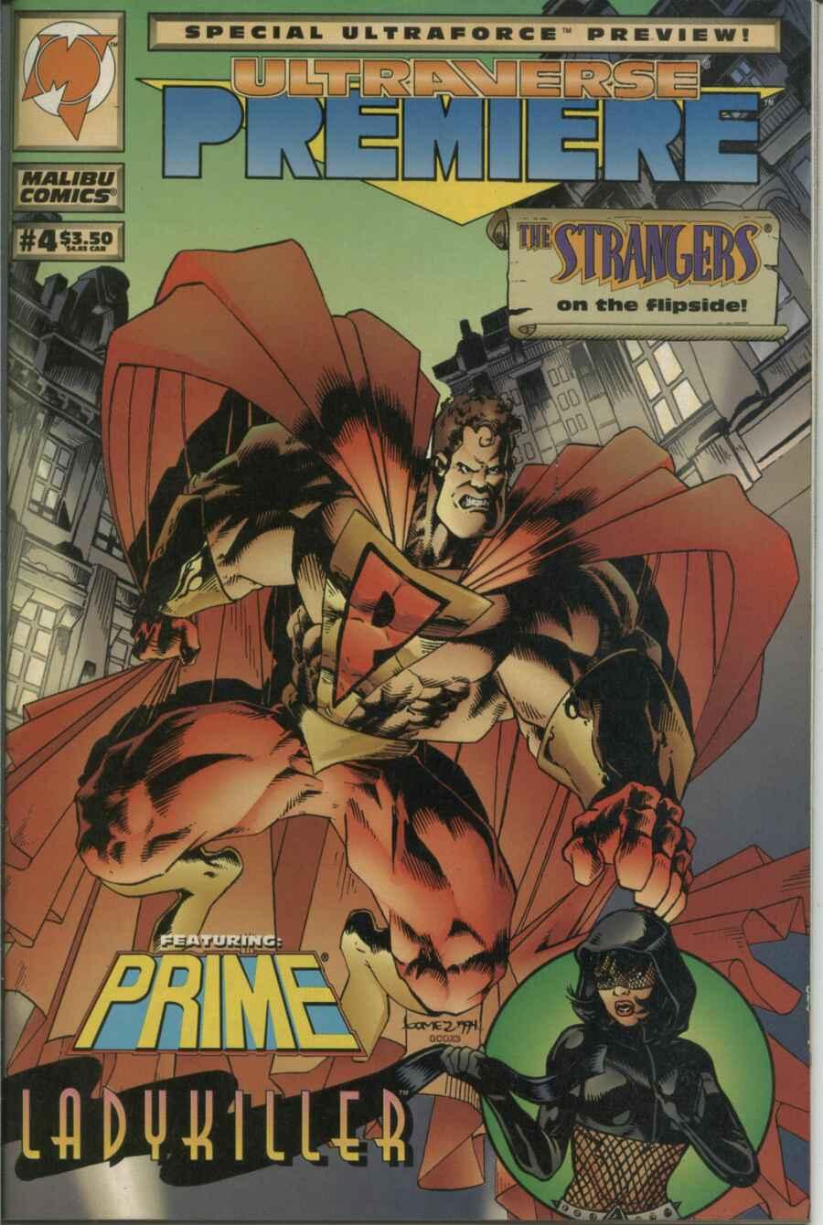 Read online Ultraverse Premiere comic -  Issue #4 - 1