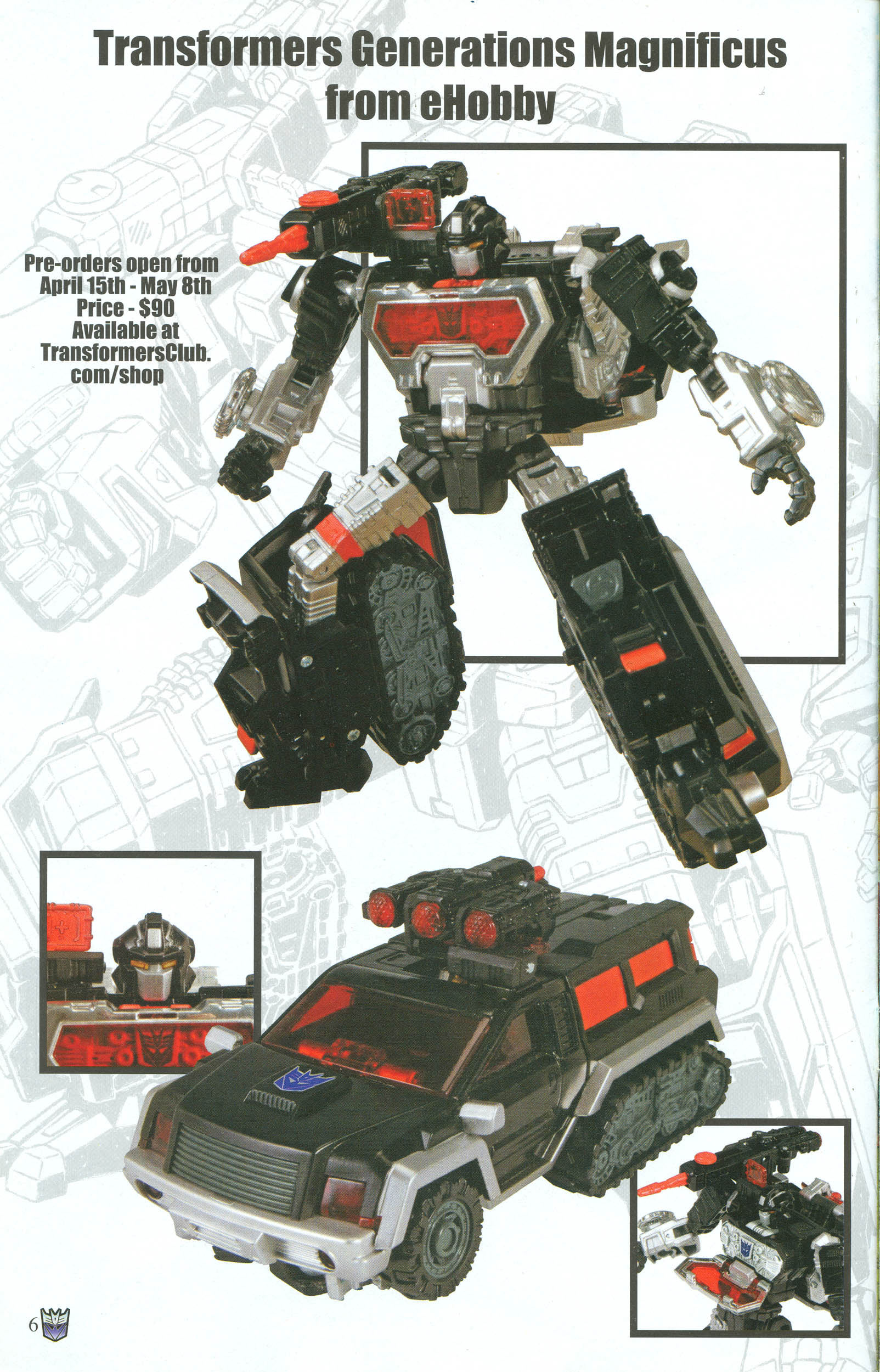 Read online Transformers: Collectors' Club comic -  Issue #50 - 6