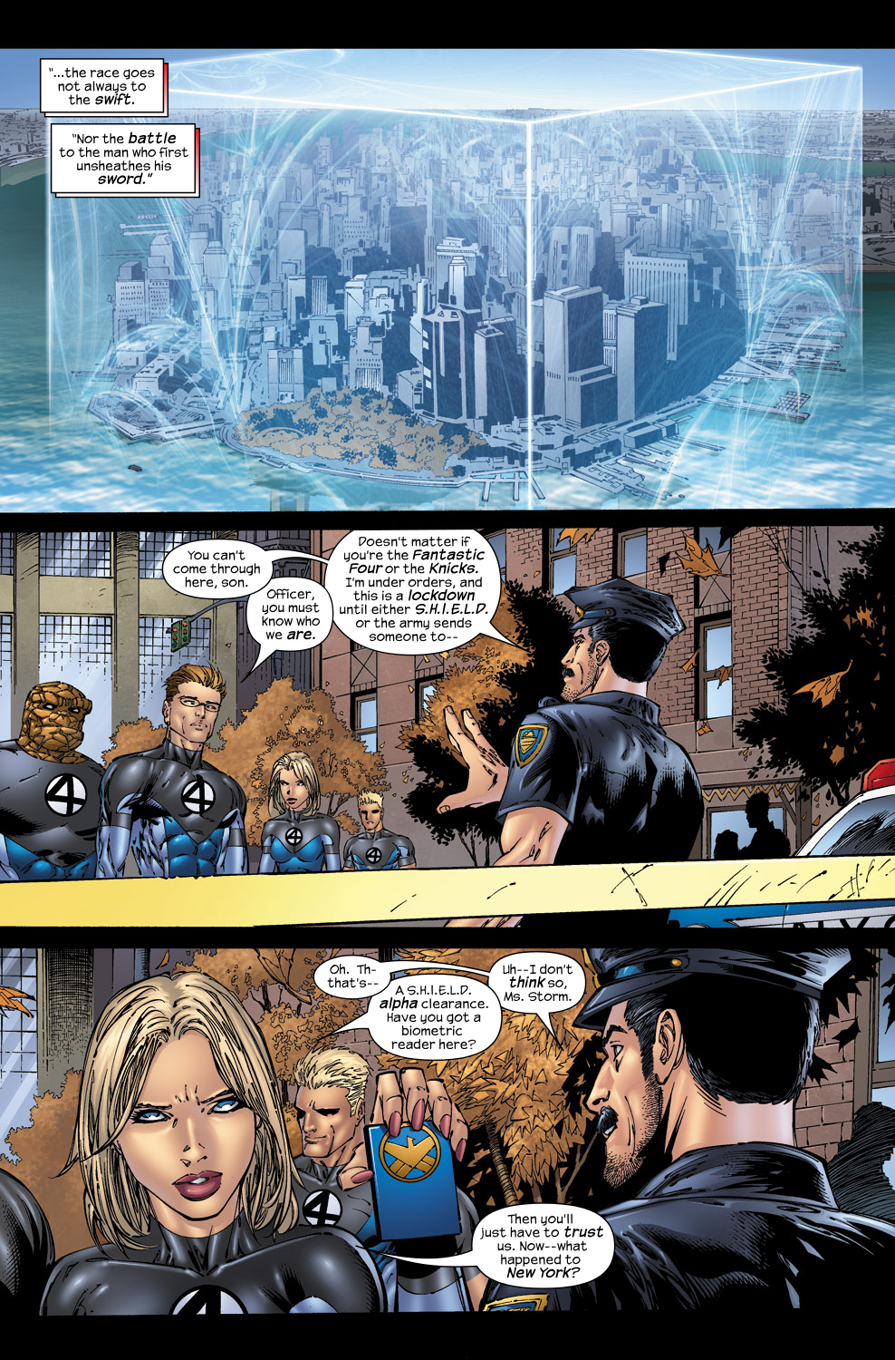 Read online Ultimate Fantastic Four (2004) comic -  Issue #50 - 6
