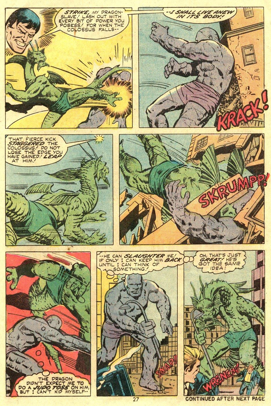 Read online Astonishing Tales (1970) comic -  Issue #24 - 18
