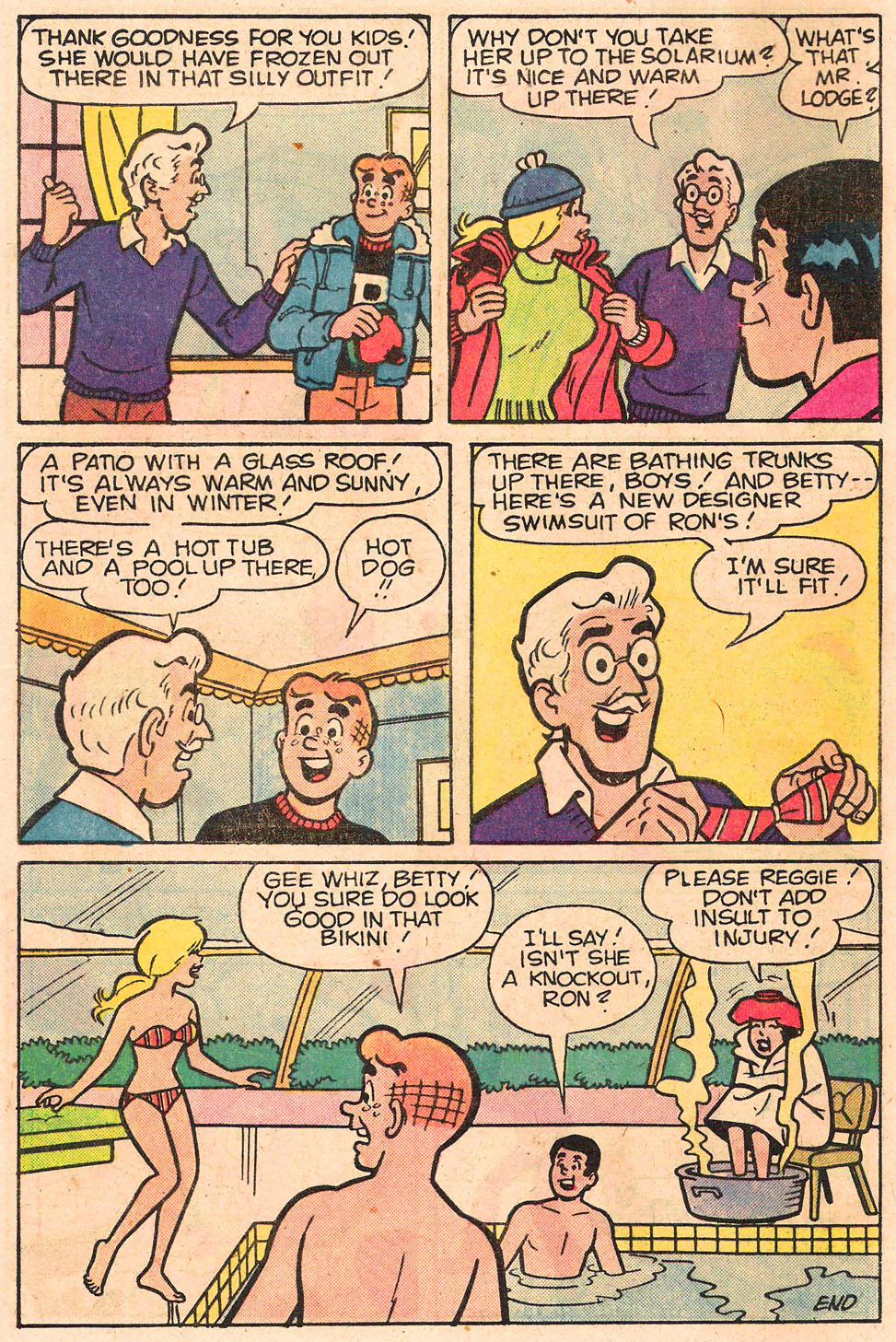 Read online Archie's Girls Betty and Veronica comic -  Issue #303 - 8