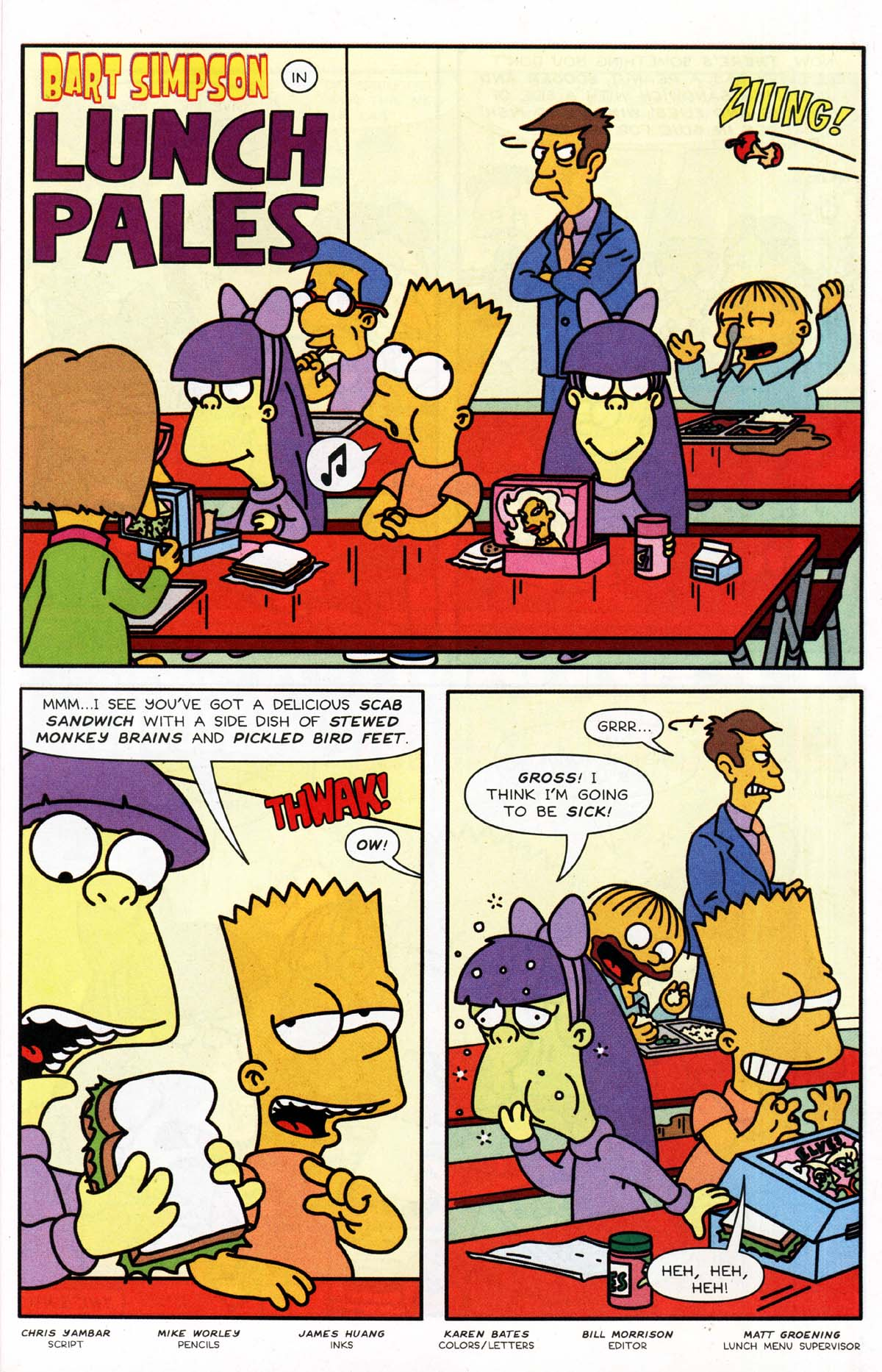 Read online Simpsons Comics Presents Bart Simpson comic -  Issue #10 - 18