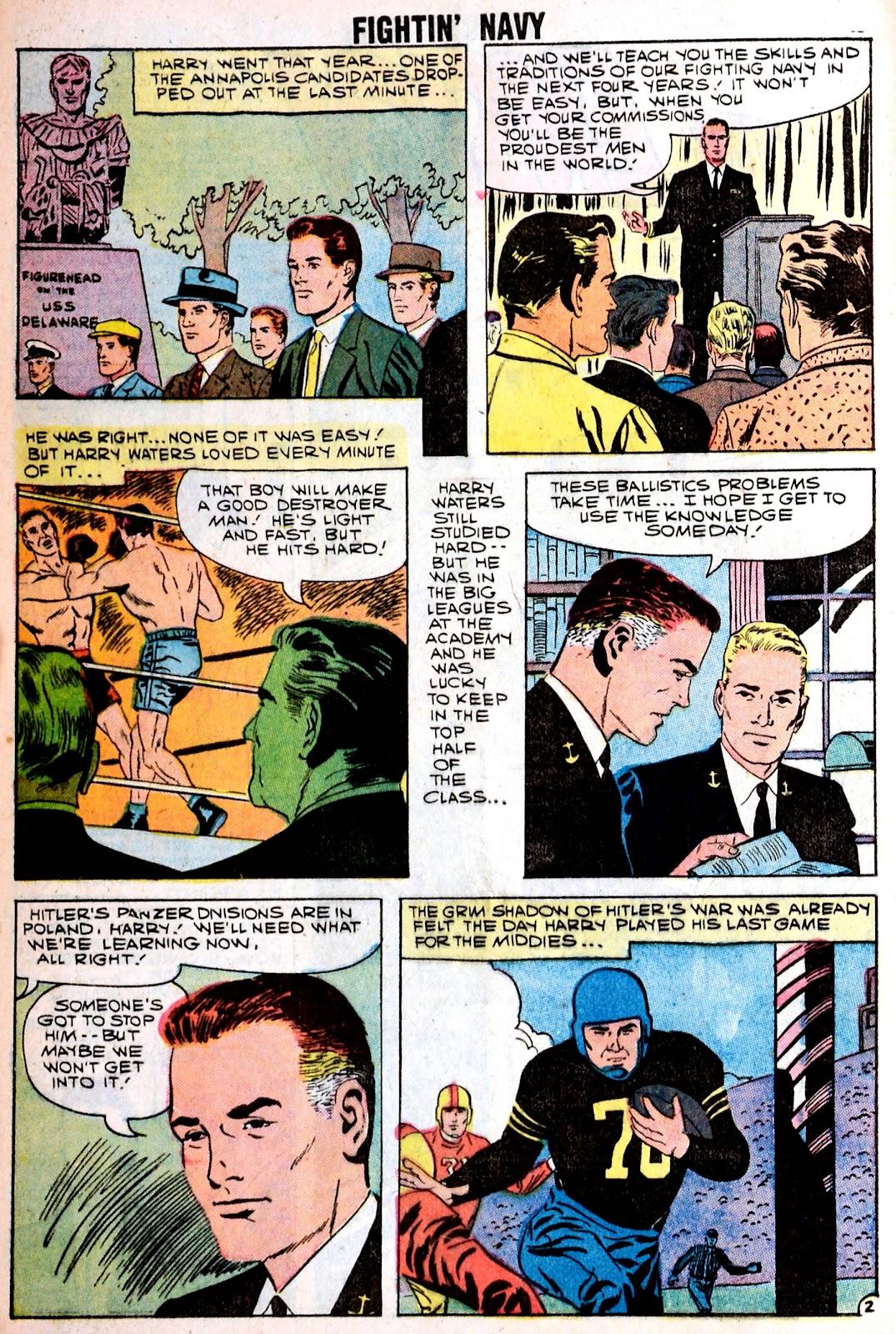 Read online Fightin' Navy comic -  Issue #85 - 4