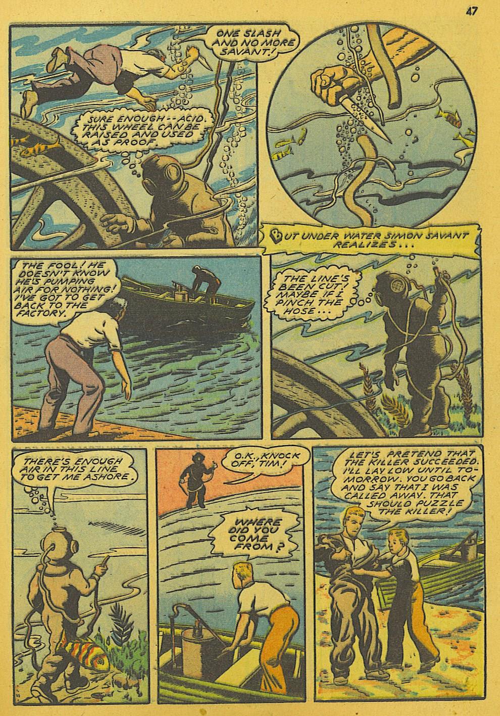 Read online Super-Magician Comics comic -  Issue #10 - 47