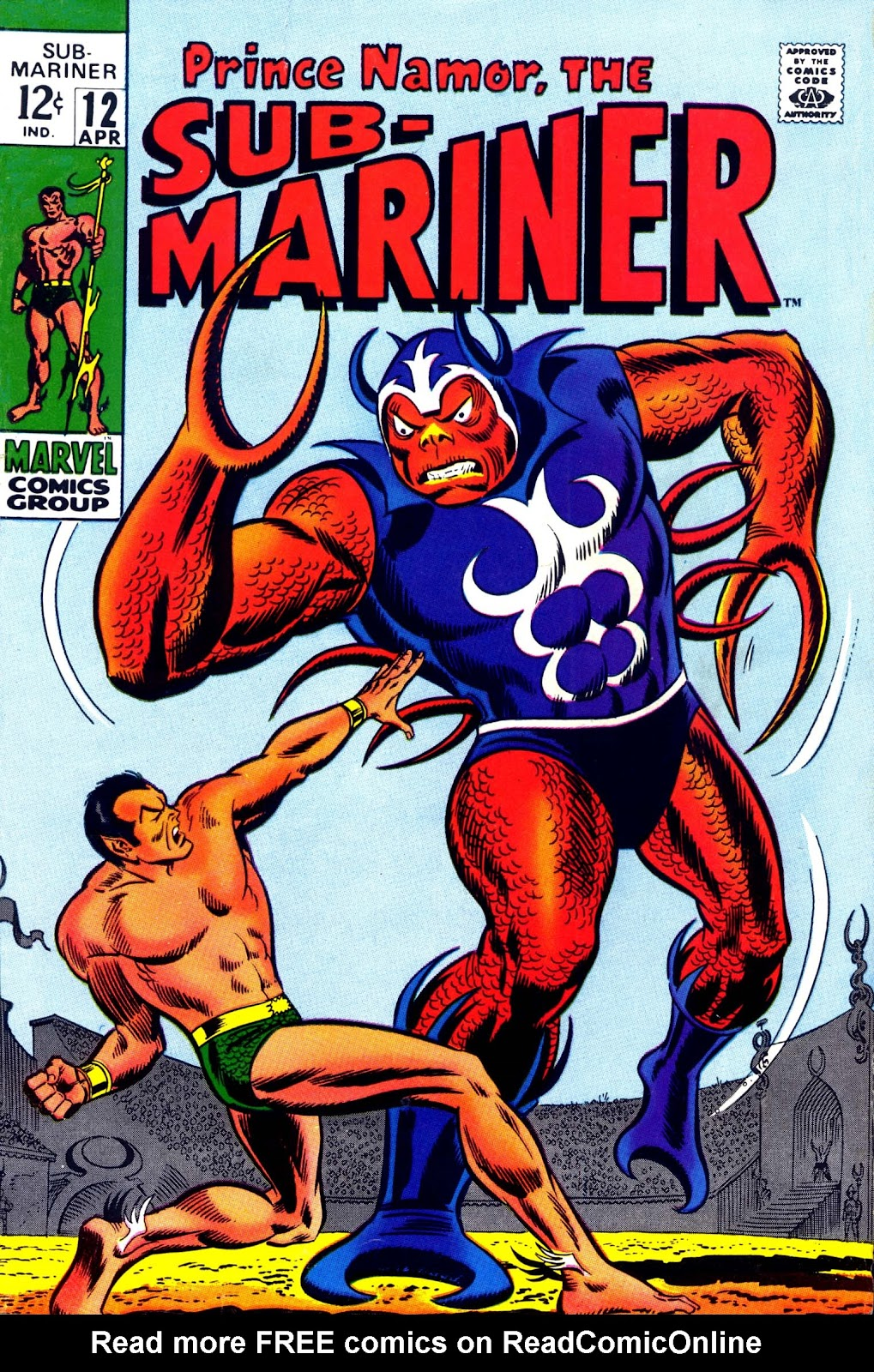 The Sub-Mariner 12 Page 1