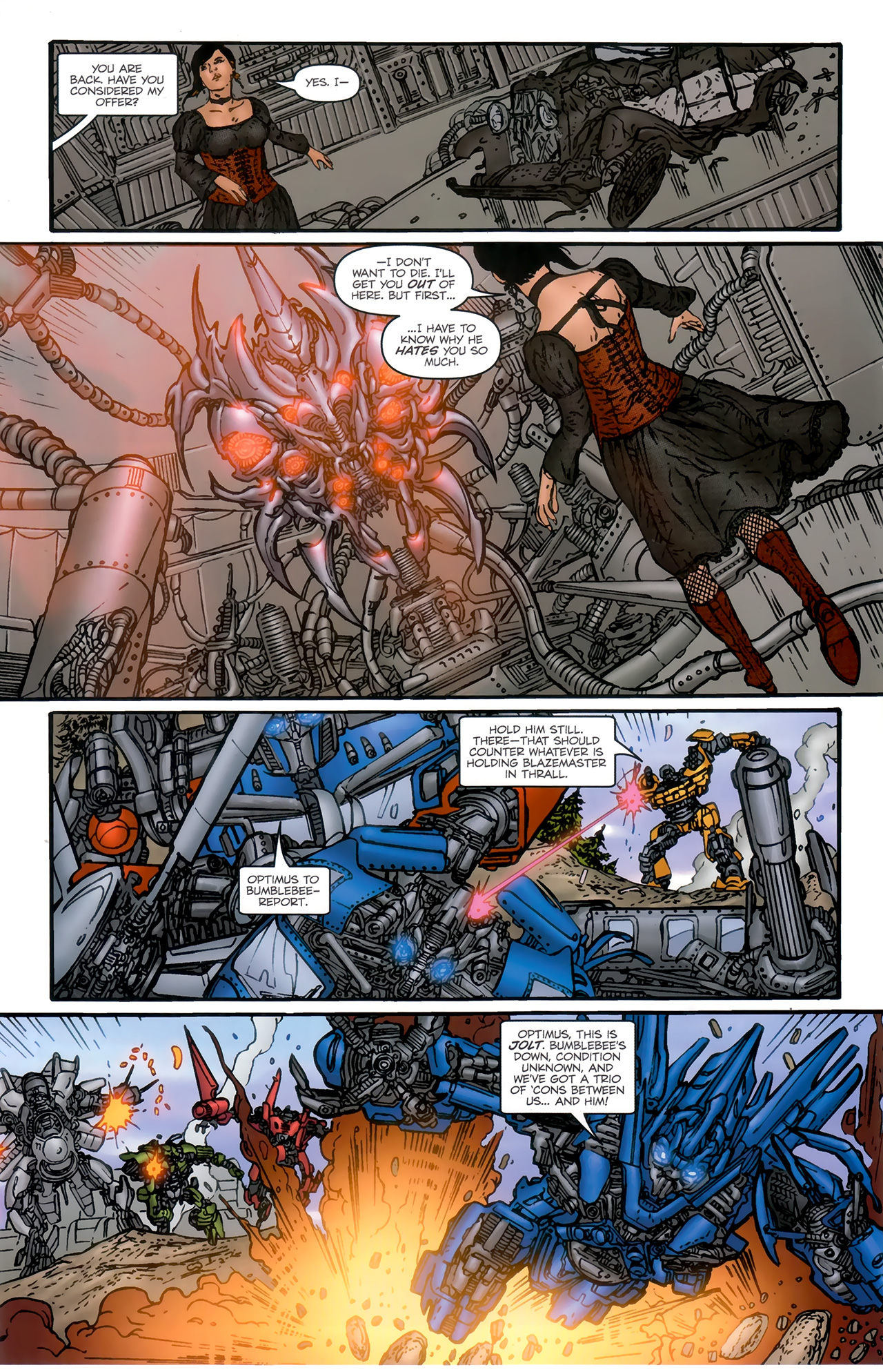 Read online Transformers: Nefarious comic -  Issue #6 - 10