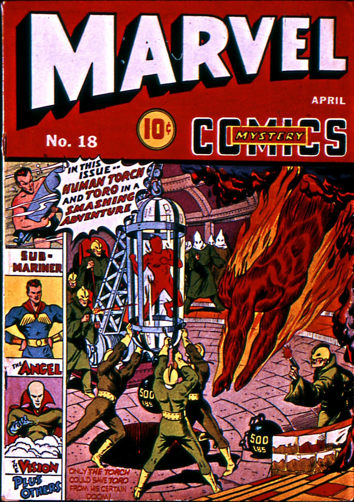 Marvel Mystery Comics (1939) issue 18 - Page 1