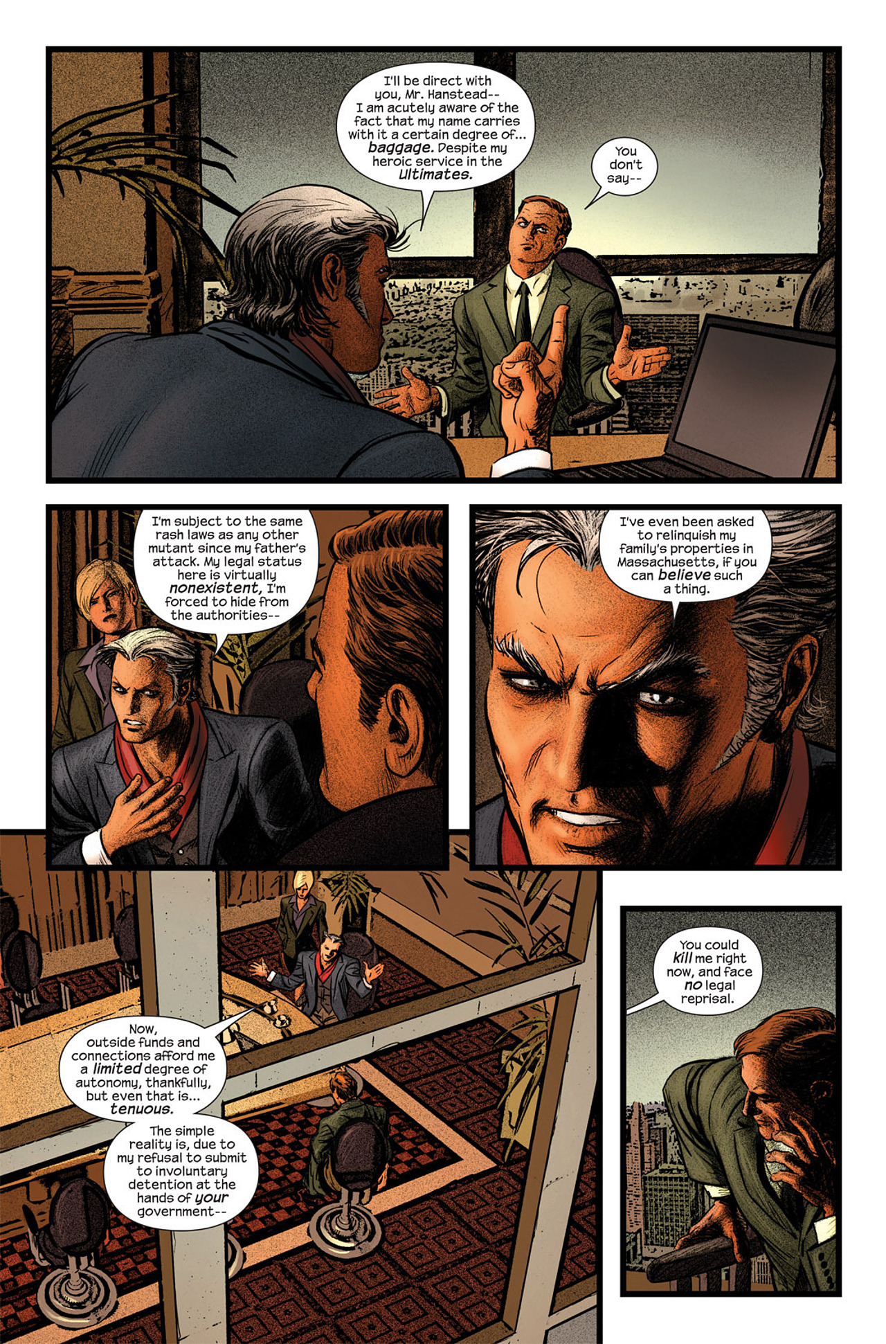 Read online Ultimate Fallout comic -  Issue #5 - 7