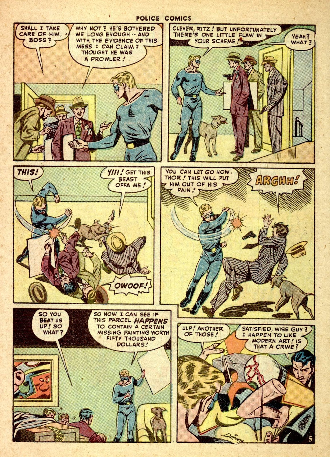 Police Comics issue 76 - Page 46