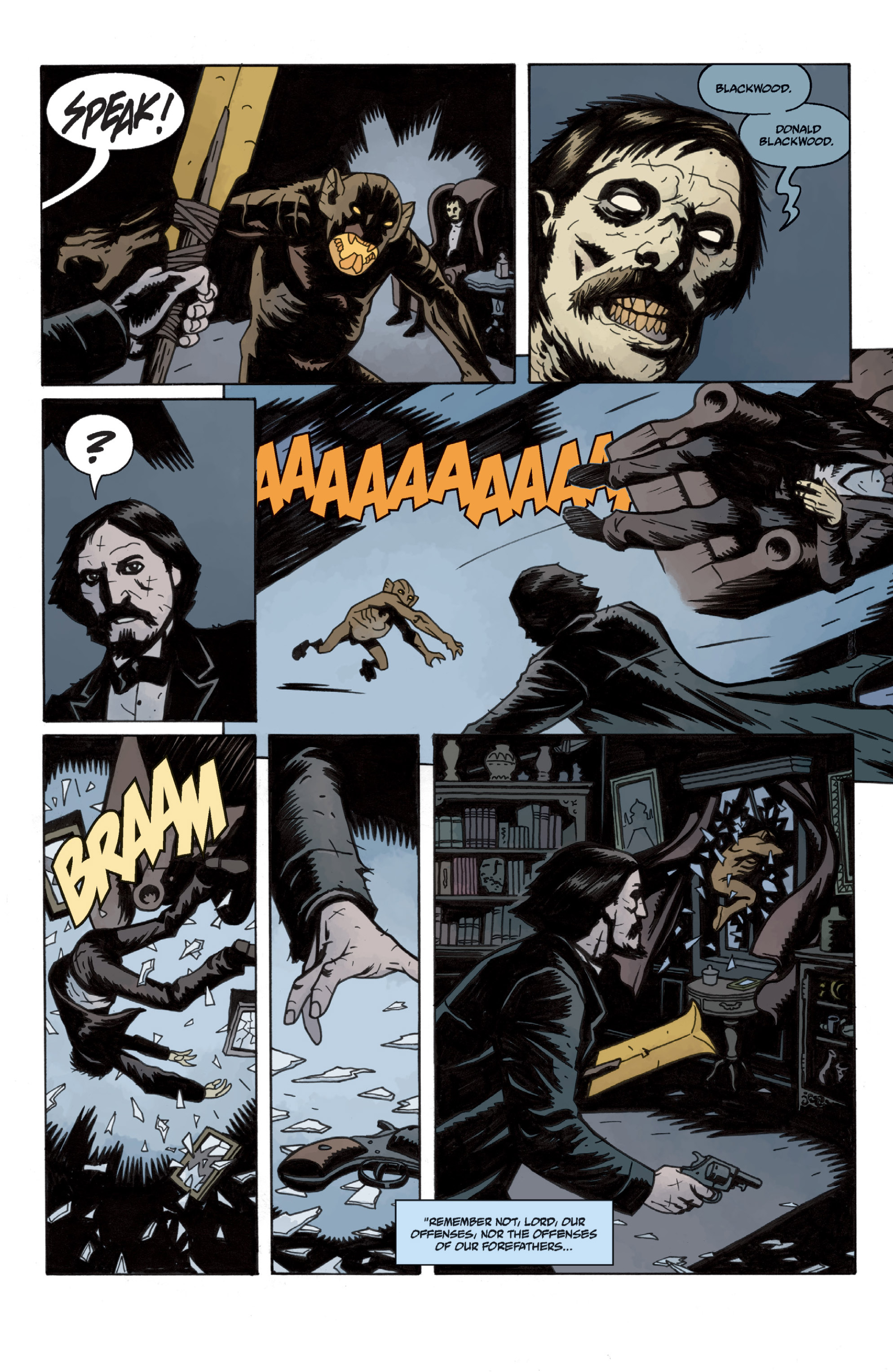 Read online Sir Edward Grey, Witchfinder: In the Service of Angels comic -  Issue # TPB - 20
