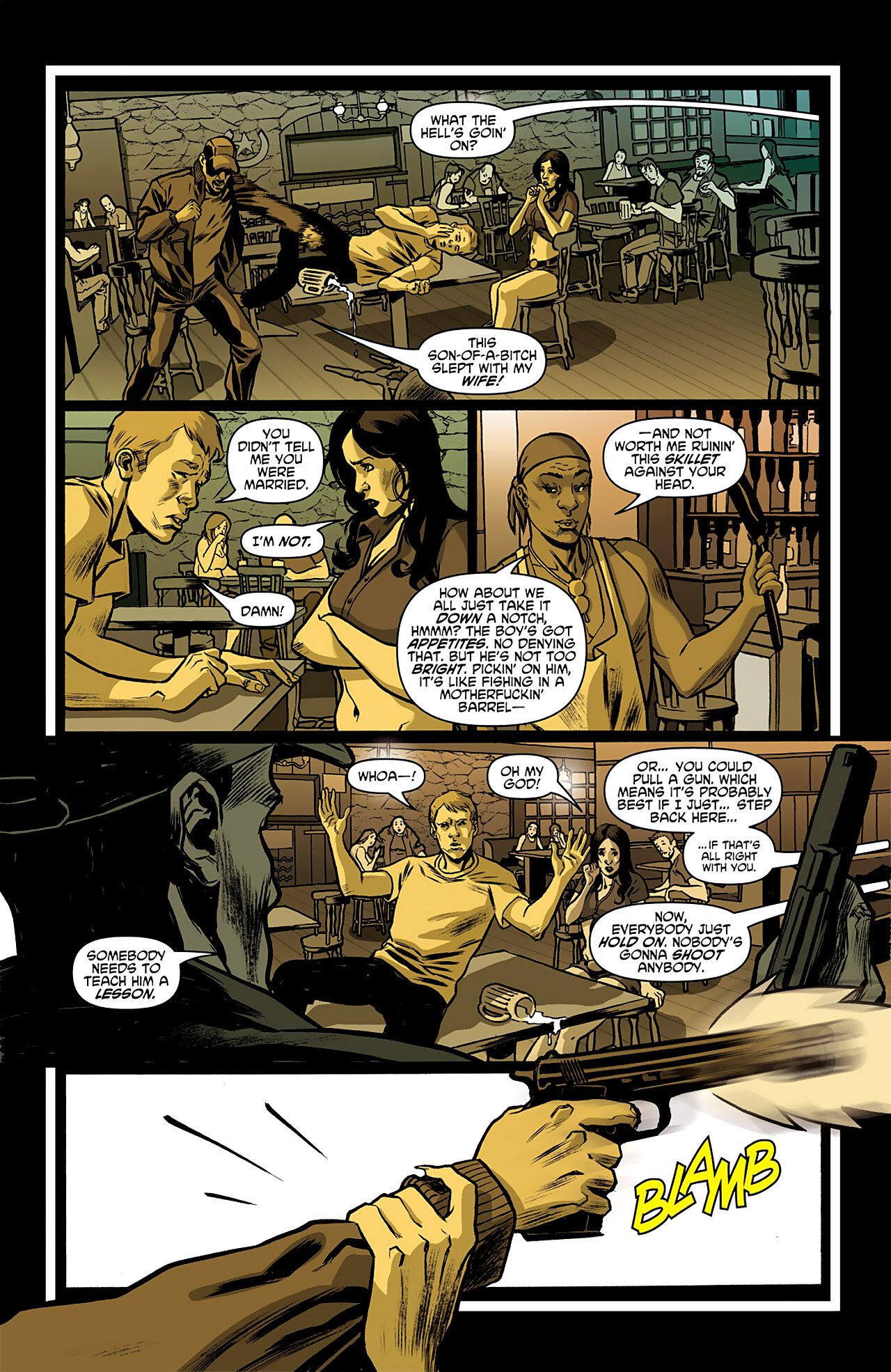Read online True Blood: French Quarter comic -  Issue #1 - 14