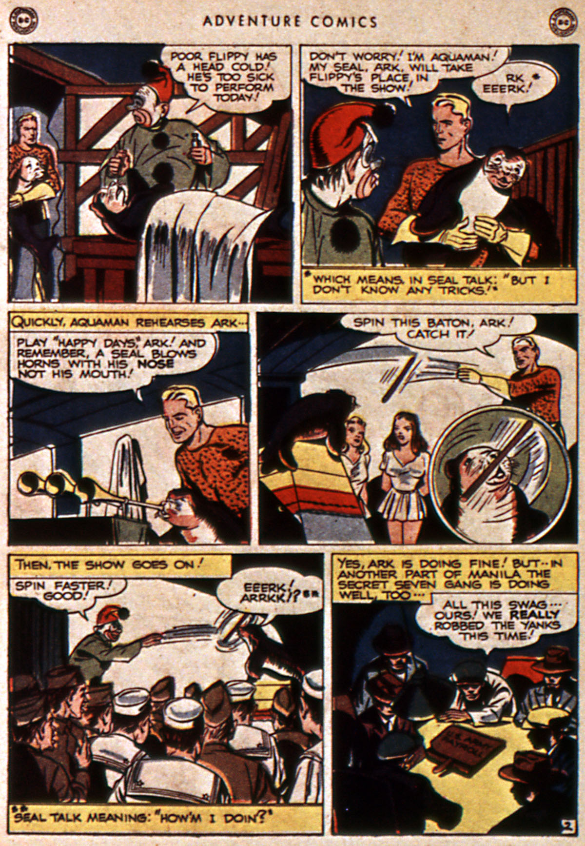 Read online Adventure Comics (1938) comic -  Issue #111 - 44