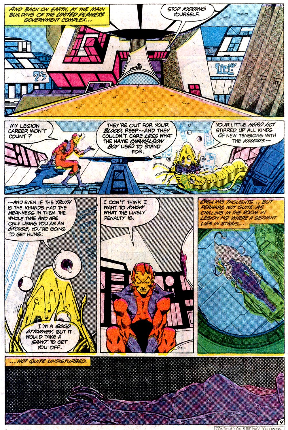 Legion of Super-Heroes (1980) 291 Page 4