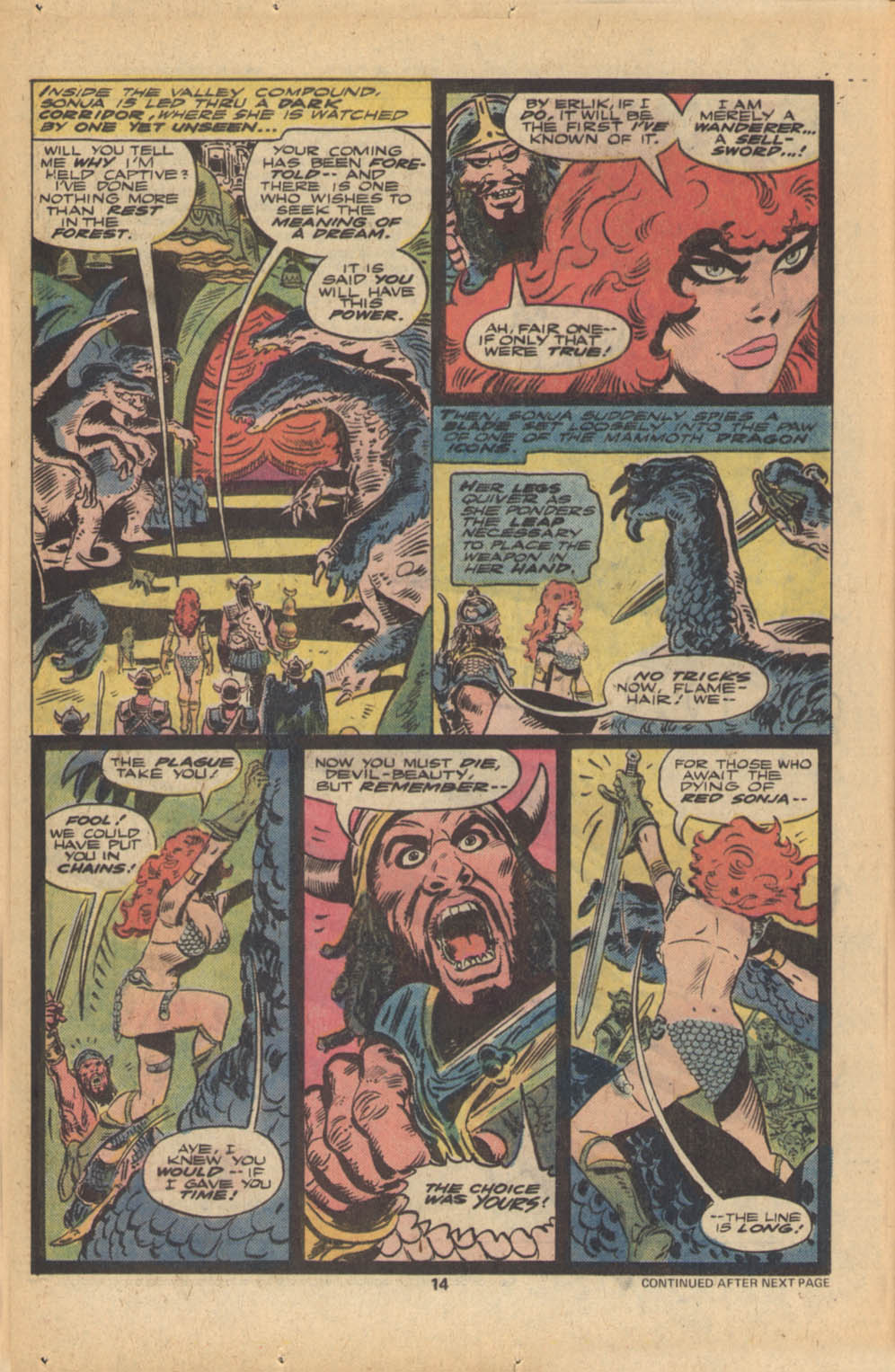 Red Sonja (1977) issue 5 - Page 9