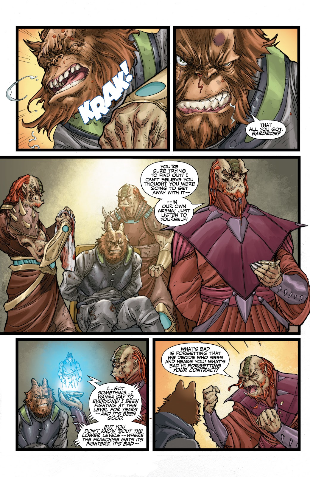 Read online Star Wars Legends: The Old Republic - Epic Collection comic -  Issue # TPB 3 (Part 1) - 42