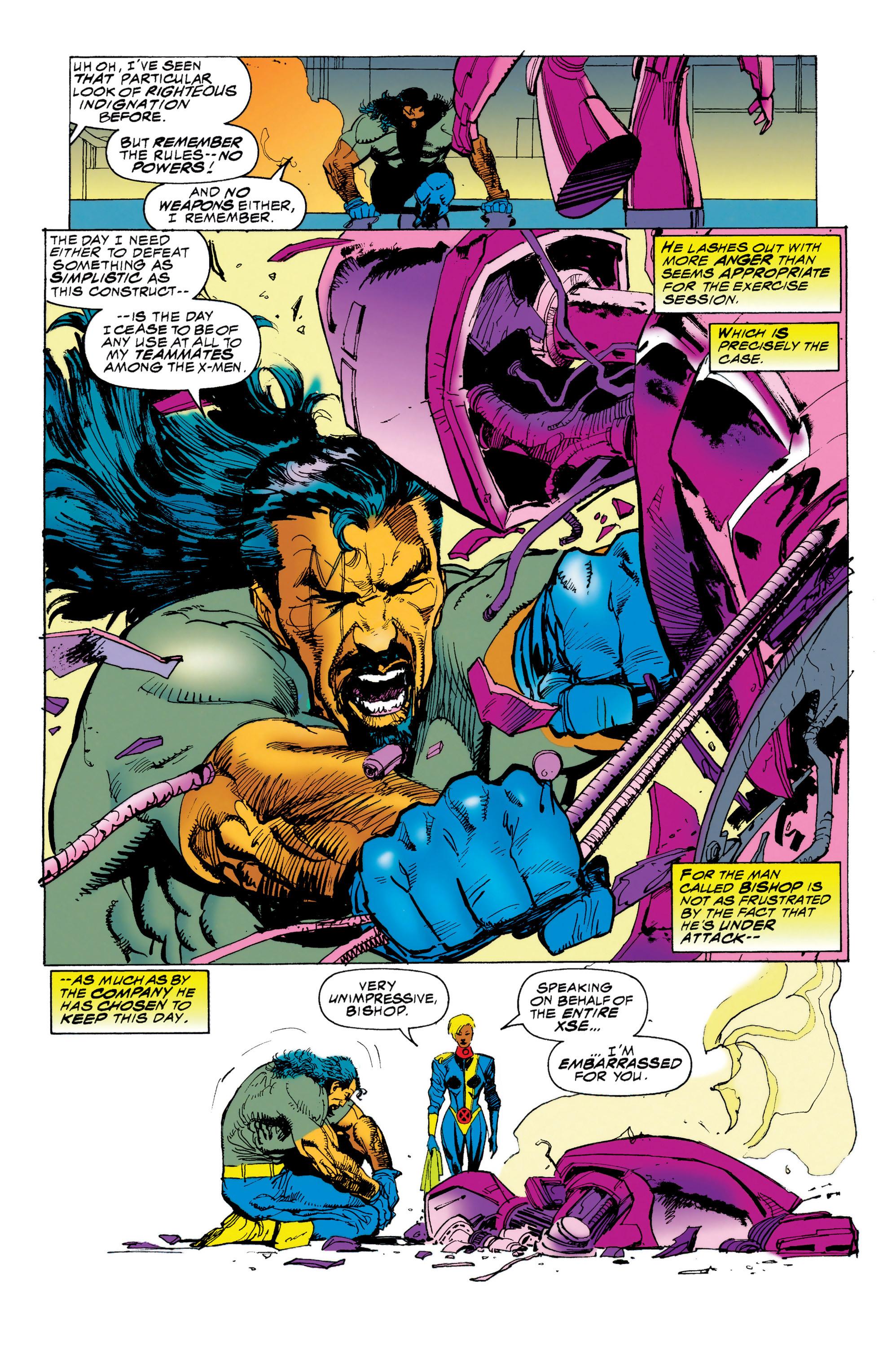 Read online Uncanny X-Men (1963) comic -  Issue #314 - 8