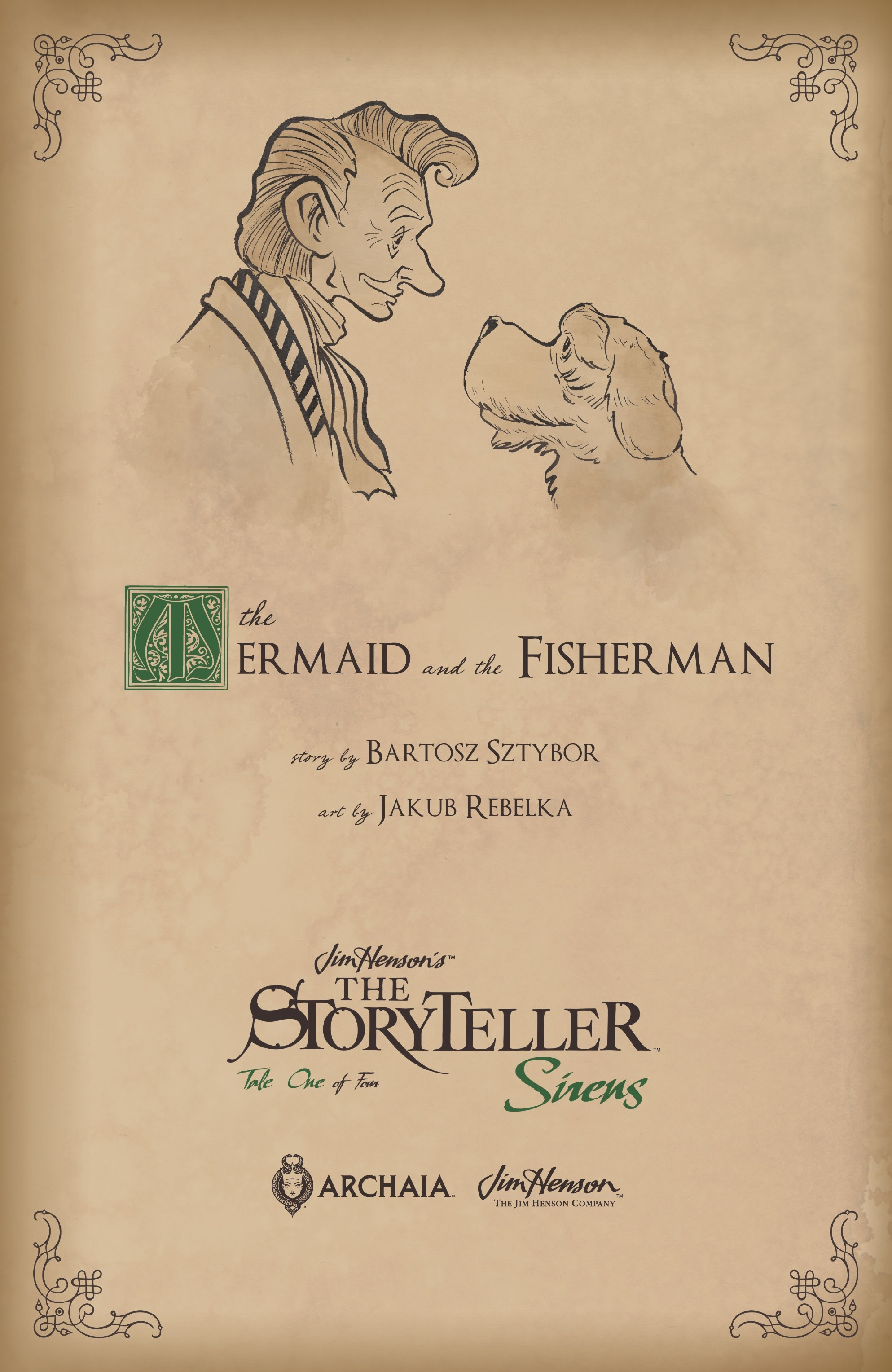 Jim Hensons The Storyteller: Sirens 1 Page 28
