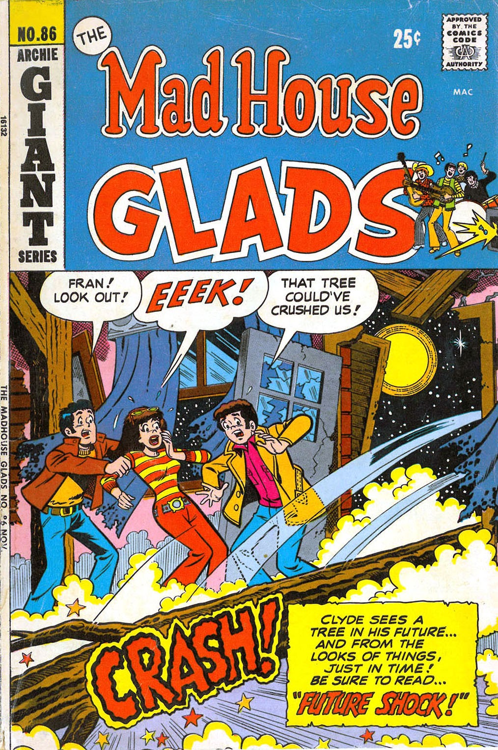 Read online The Mad House Glads comic -  Issue #86 - 1