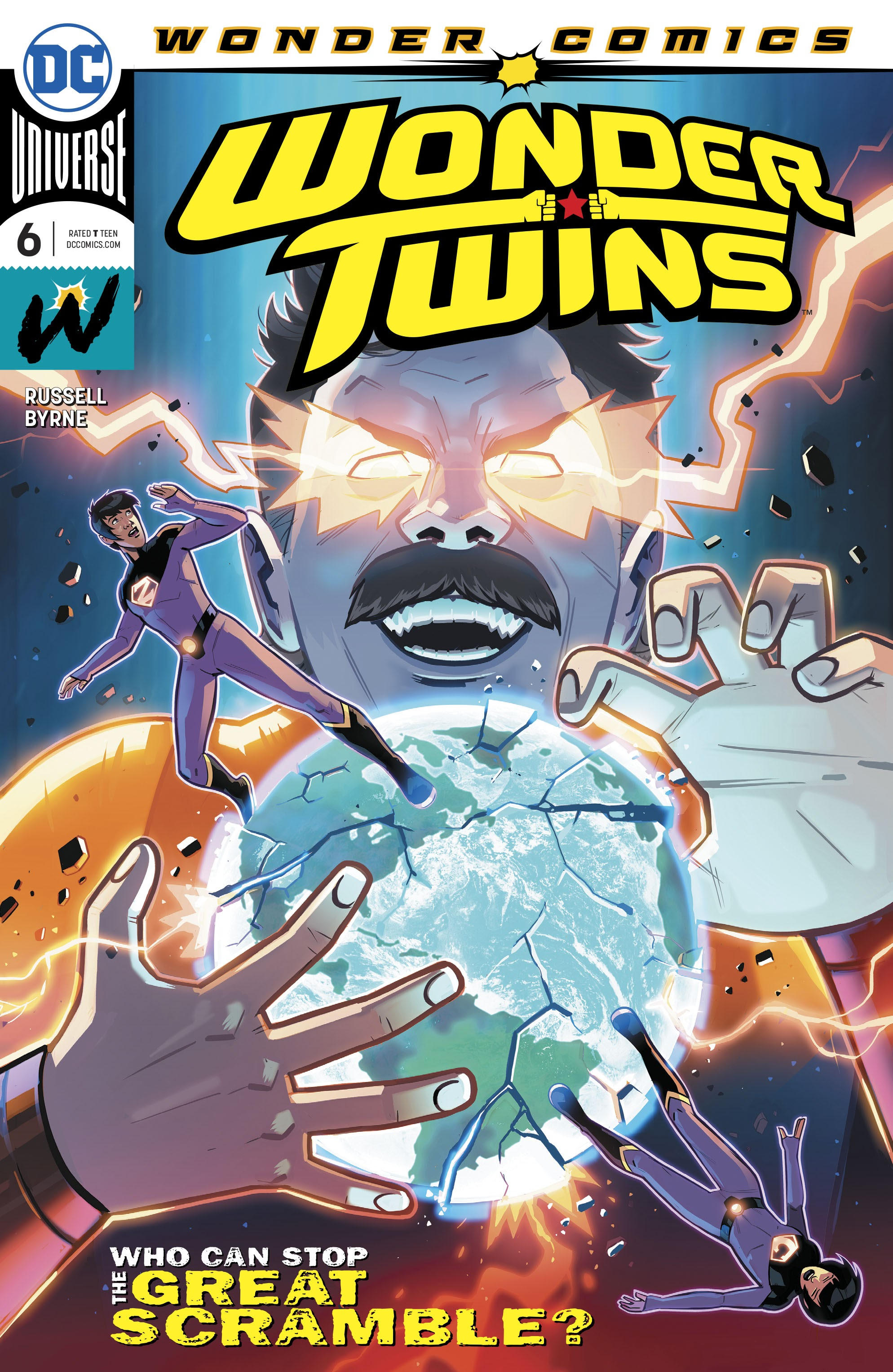 Wonder Twins 6 Page 1