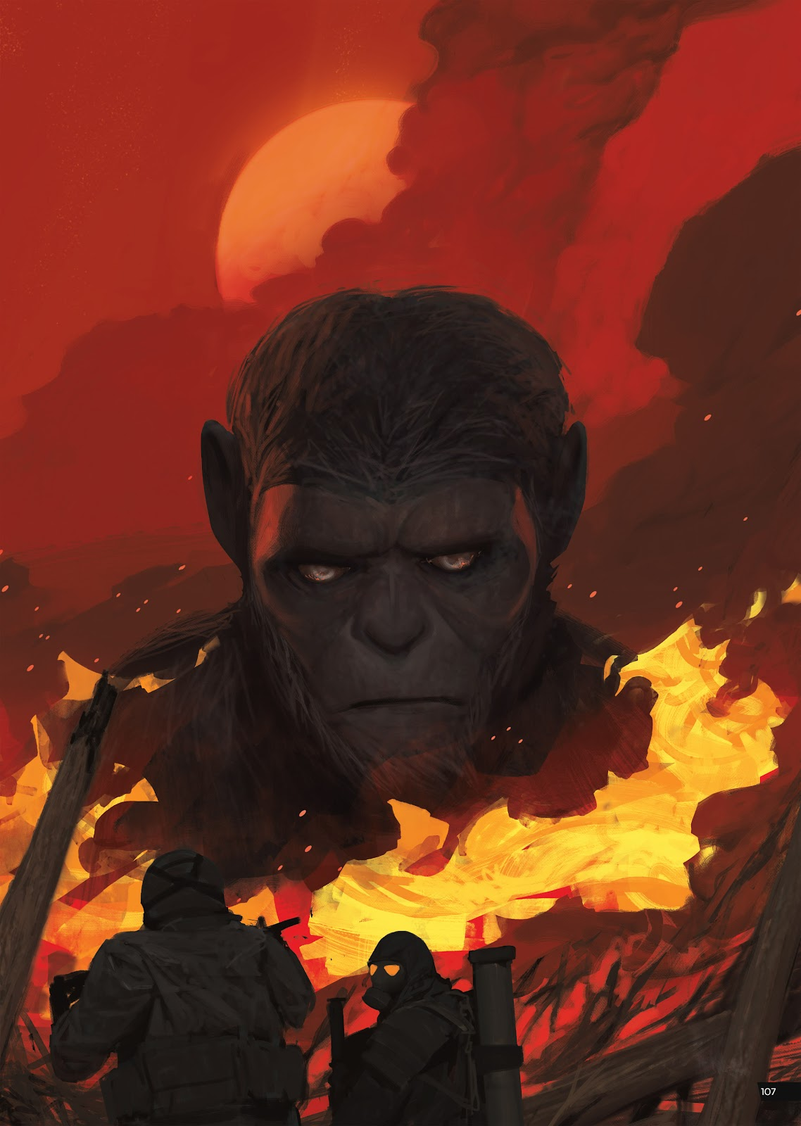 Read online Planet of the Apes Artist Tribute comic -  Issue # TPB - 107