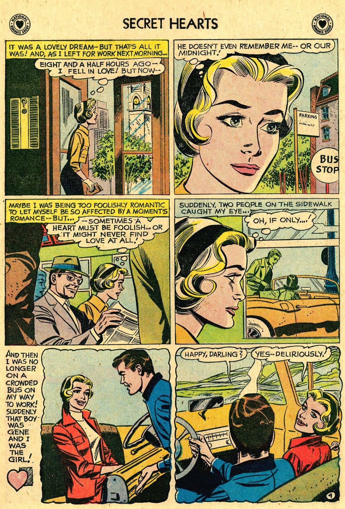 Read online Secret Hearts comic -  Issue #60 - 21