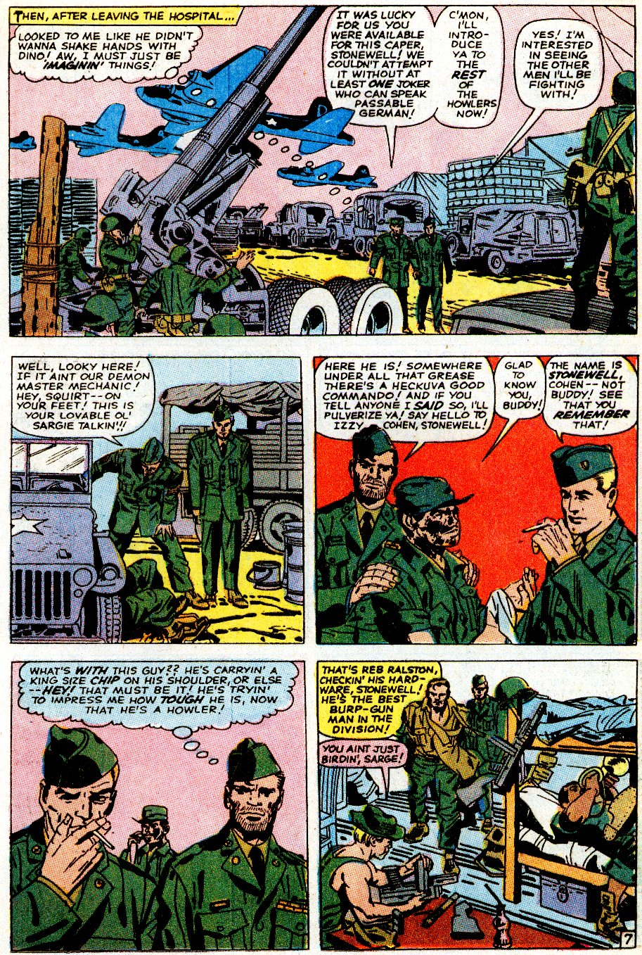 Read online Sgt. Fury comic -  Issue # _Special 5 - 9