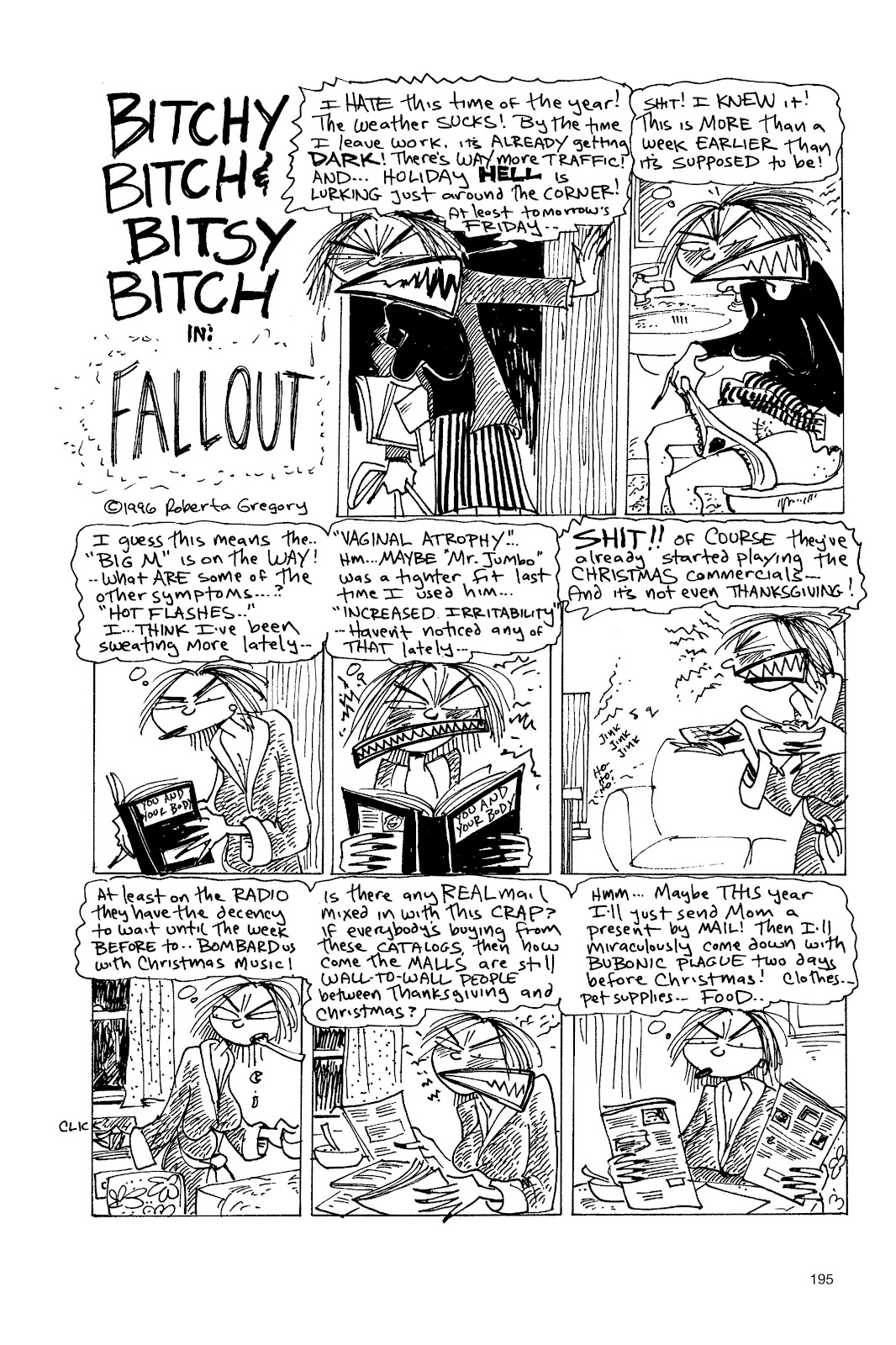 Read online Life's a Bitch: The Complete Bitchy Bitch Stories comic -  Issue # TPB (Part 2) - 91