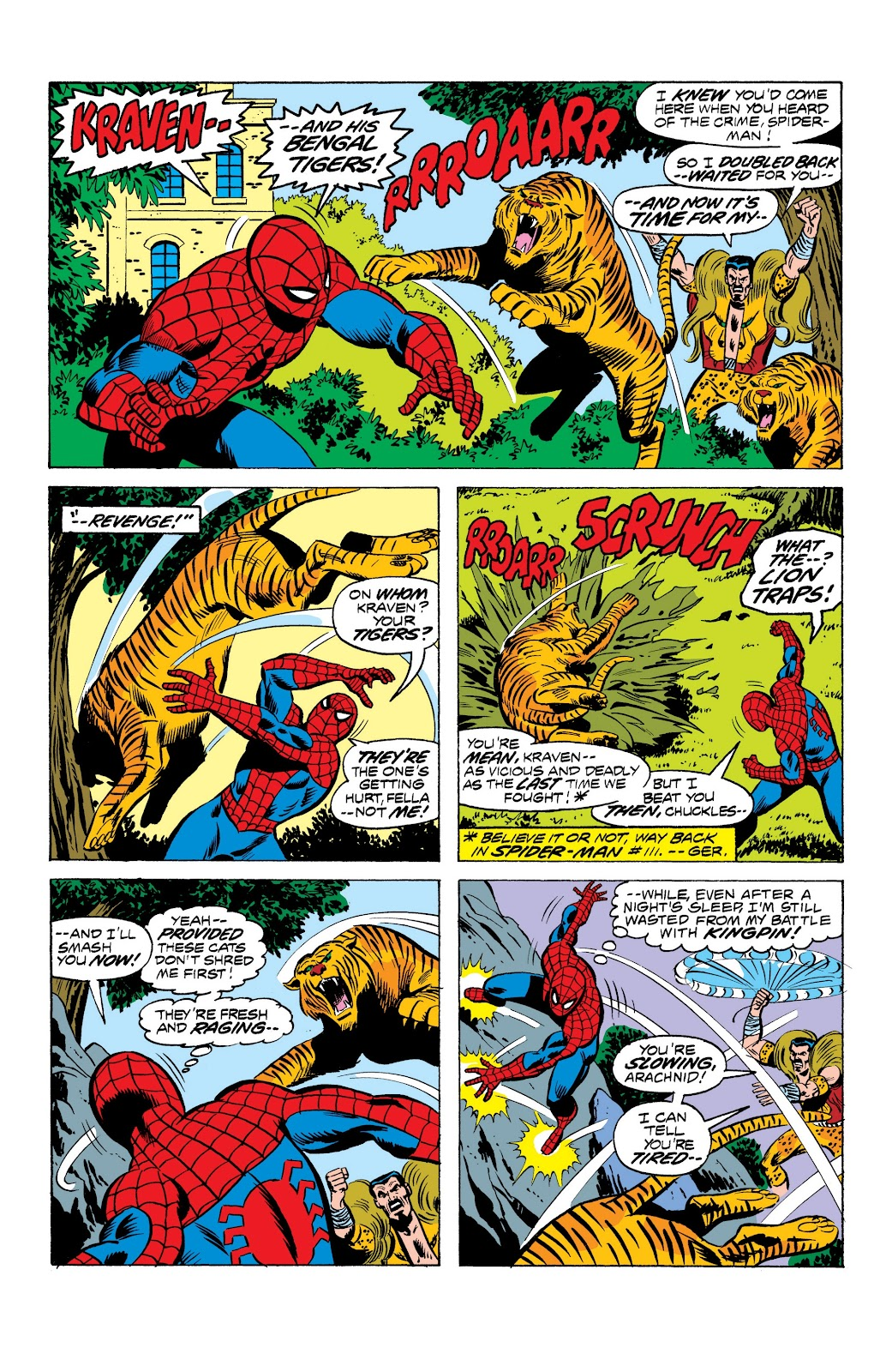 Read online Marvel Masterworks: The Spectacular Spider-Man comic -  Issue # TPB (Part 1) - 38