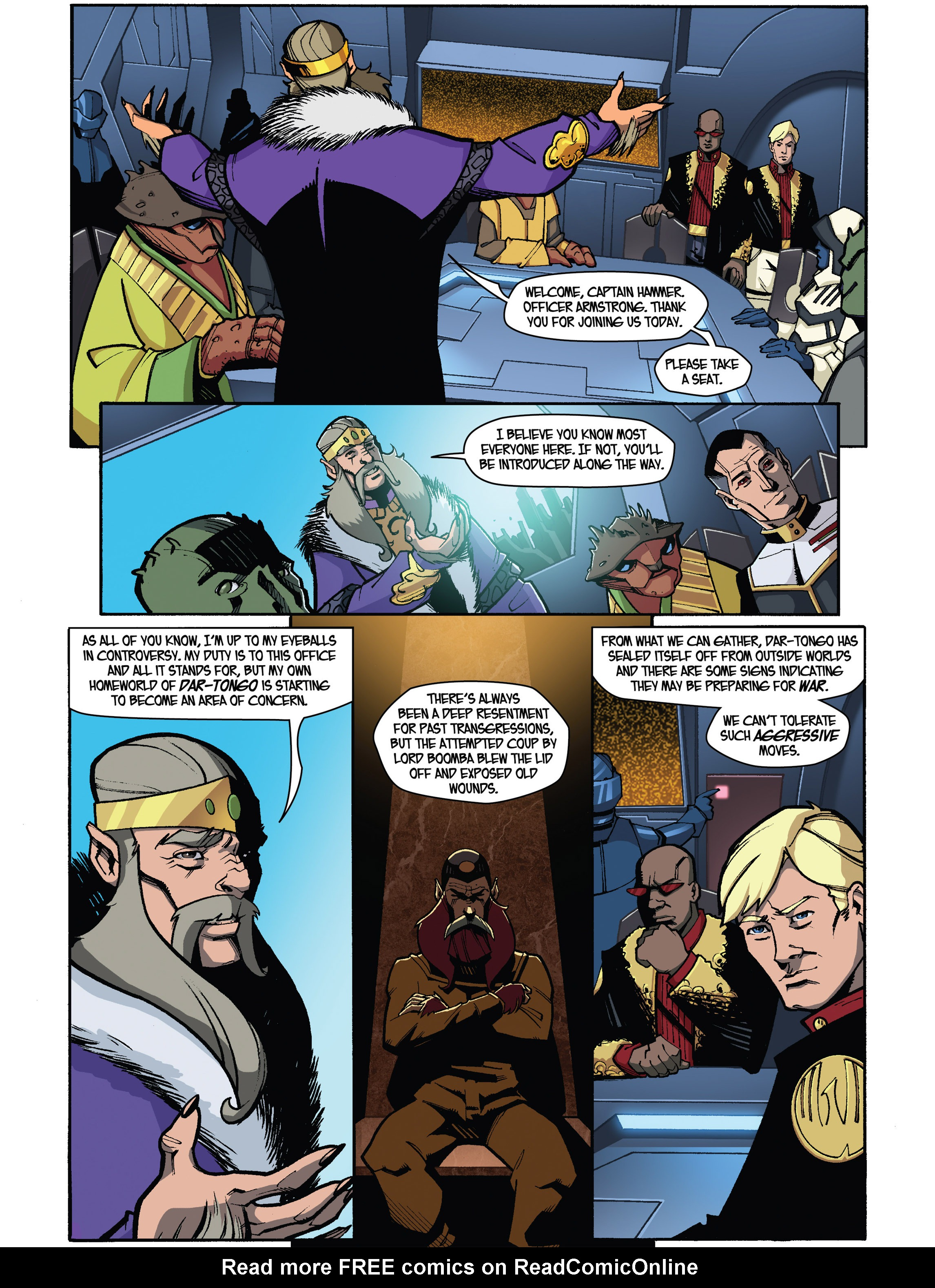 Read online Amber Atoms comic -  Issue #5 - 7