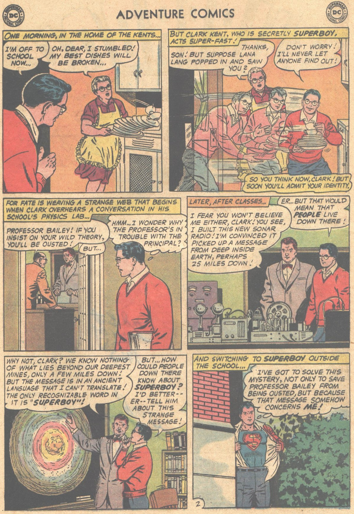 Read online Adventure Comics (1938) comic -  Issue #302 - 5