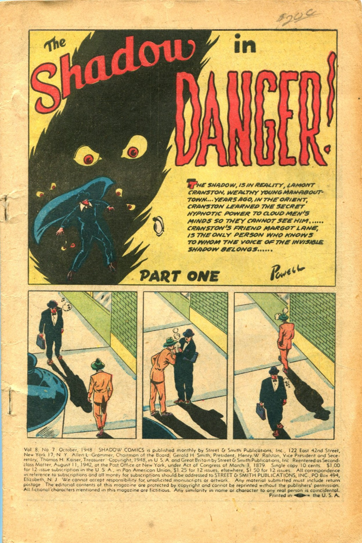 Read online Shadow Comics comic -  Issue #91 - 3