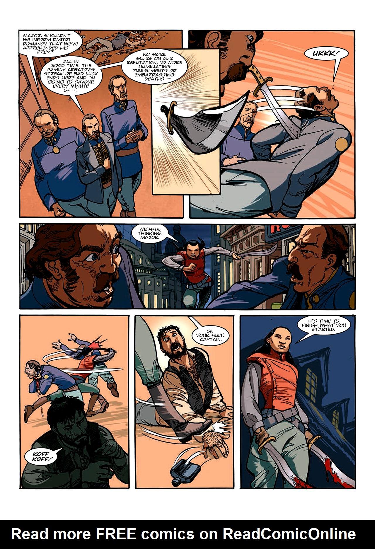 Read online Nikolai Dante comic -  Issue # TPB 10 - 137