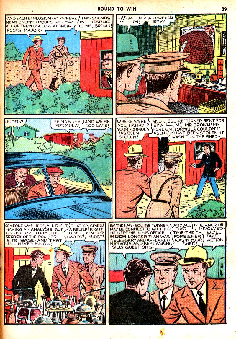 Read online Shadow Comics comic -  Issue #7 - 32