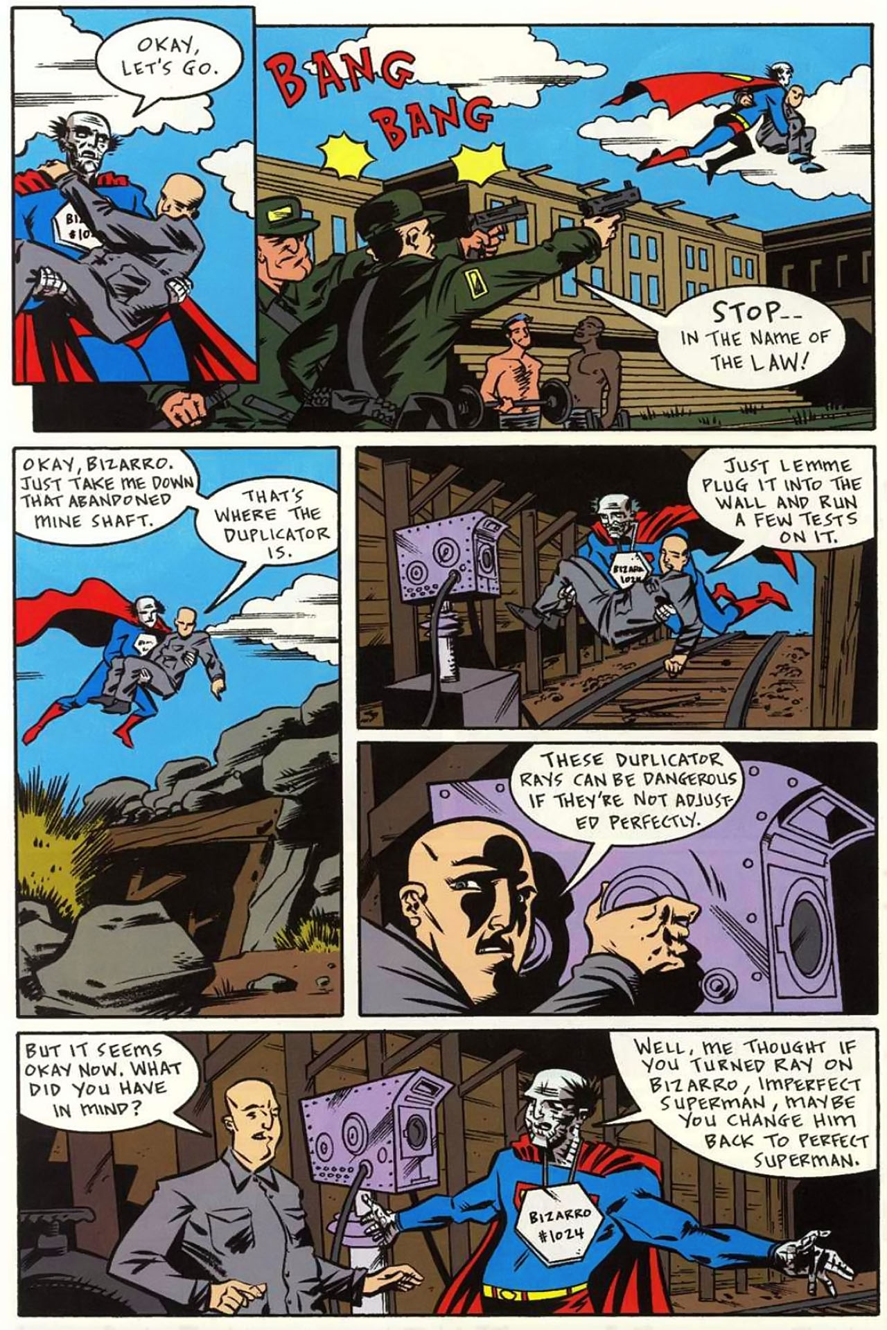 Read online Bizarro World comic -  Issue # TPB - 97