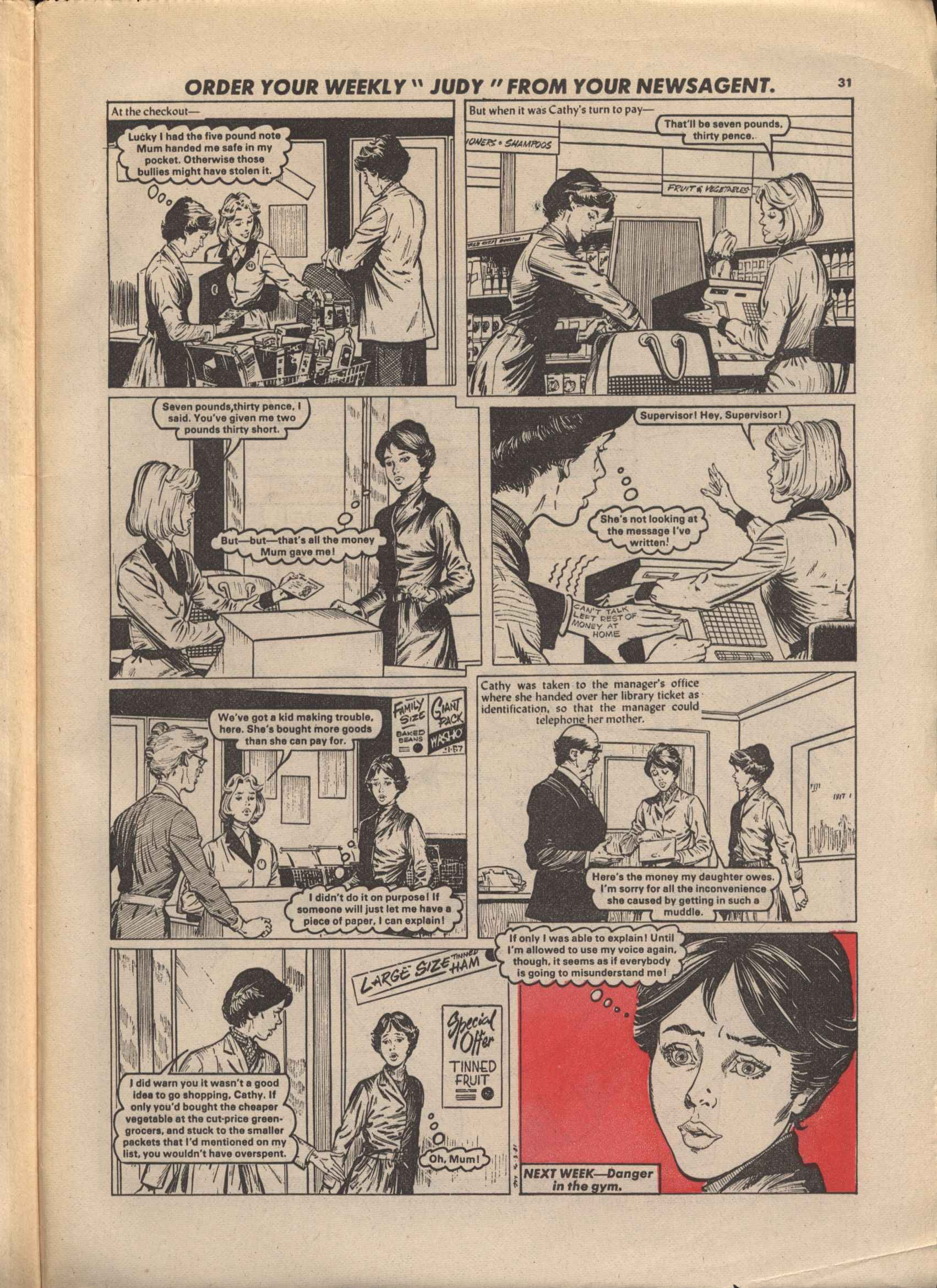 Read online Judy comic -  Issue #1105 - 31