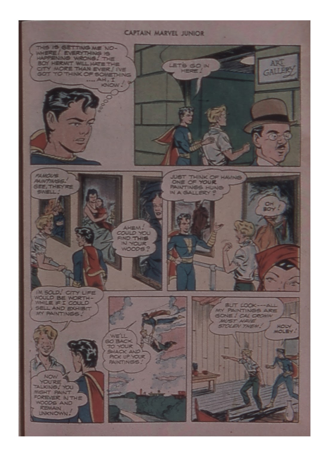 Captain Marvel, Jr. issue 59 - Page 47