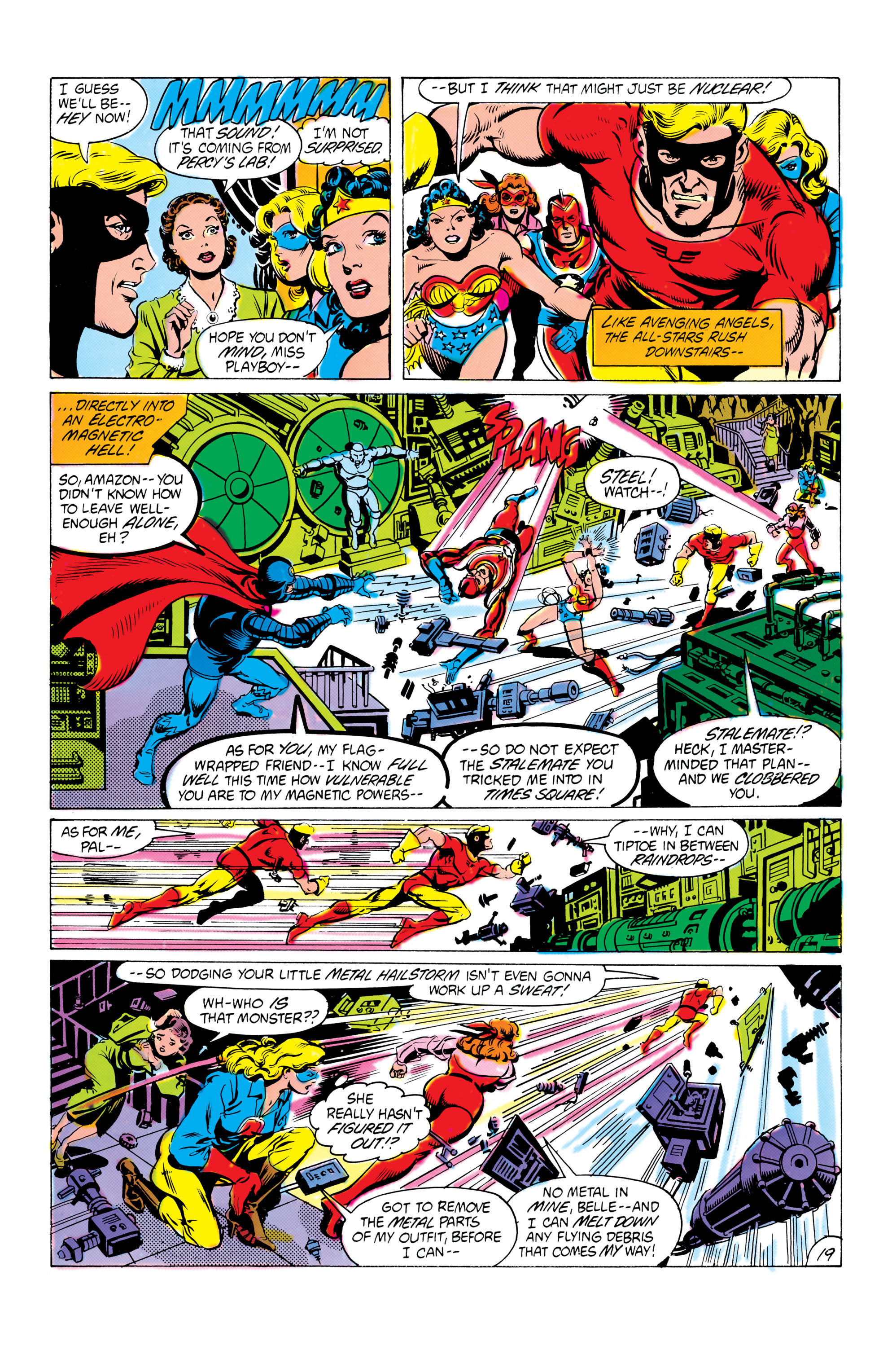 Read online All-Star Squadron comic -  Issue #16 - 20