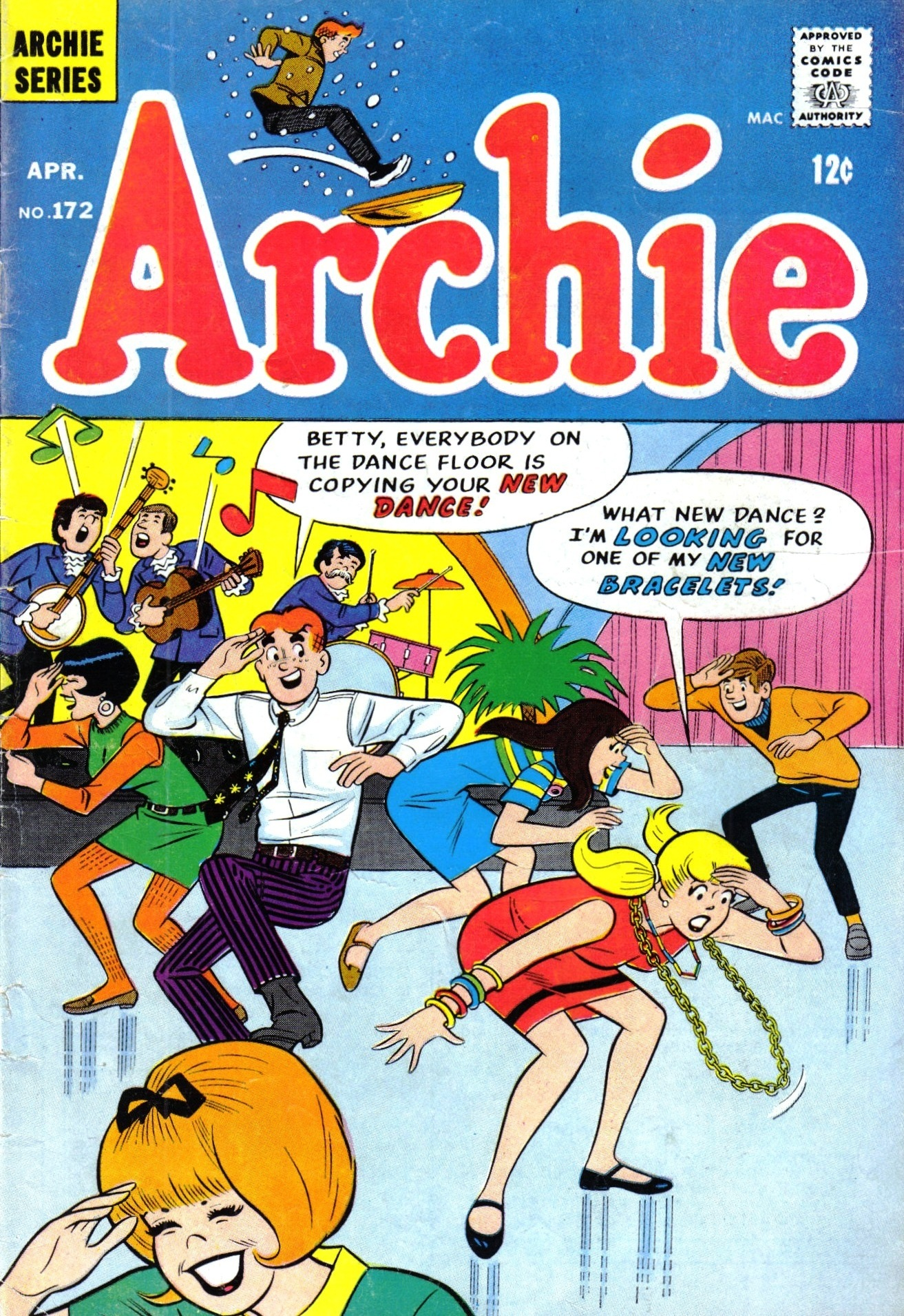 Read online Archie (1960) comic -  Issue #172 - 1