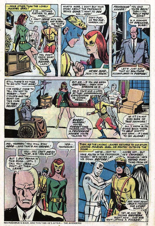 Uncanny X-Men (1963) 90 Page 3