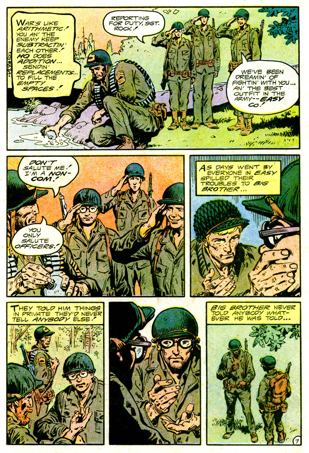 Read online Sgt. Rock comic -  Issue #375 - 10