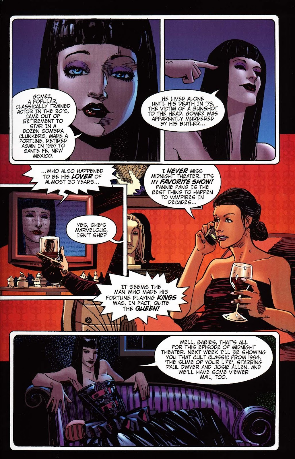 Read online Vampire the Masquerade comic -  Issue # Toreador - 11