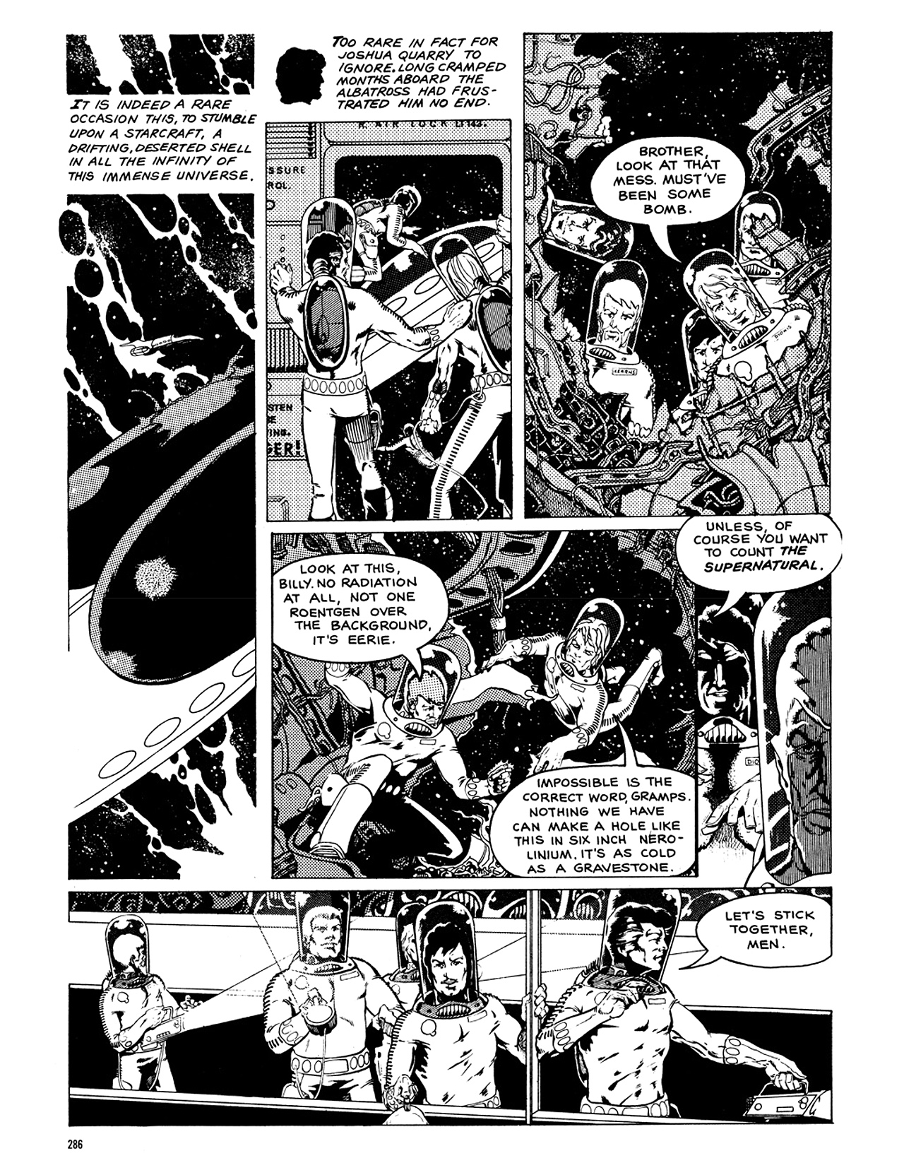 Read online Eerie Archives comic -  Issue # TPB 8 - 287