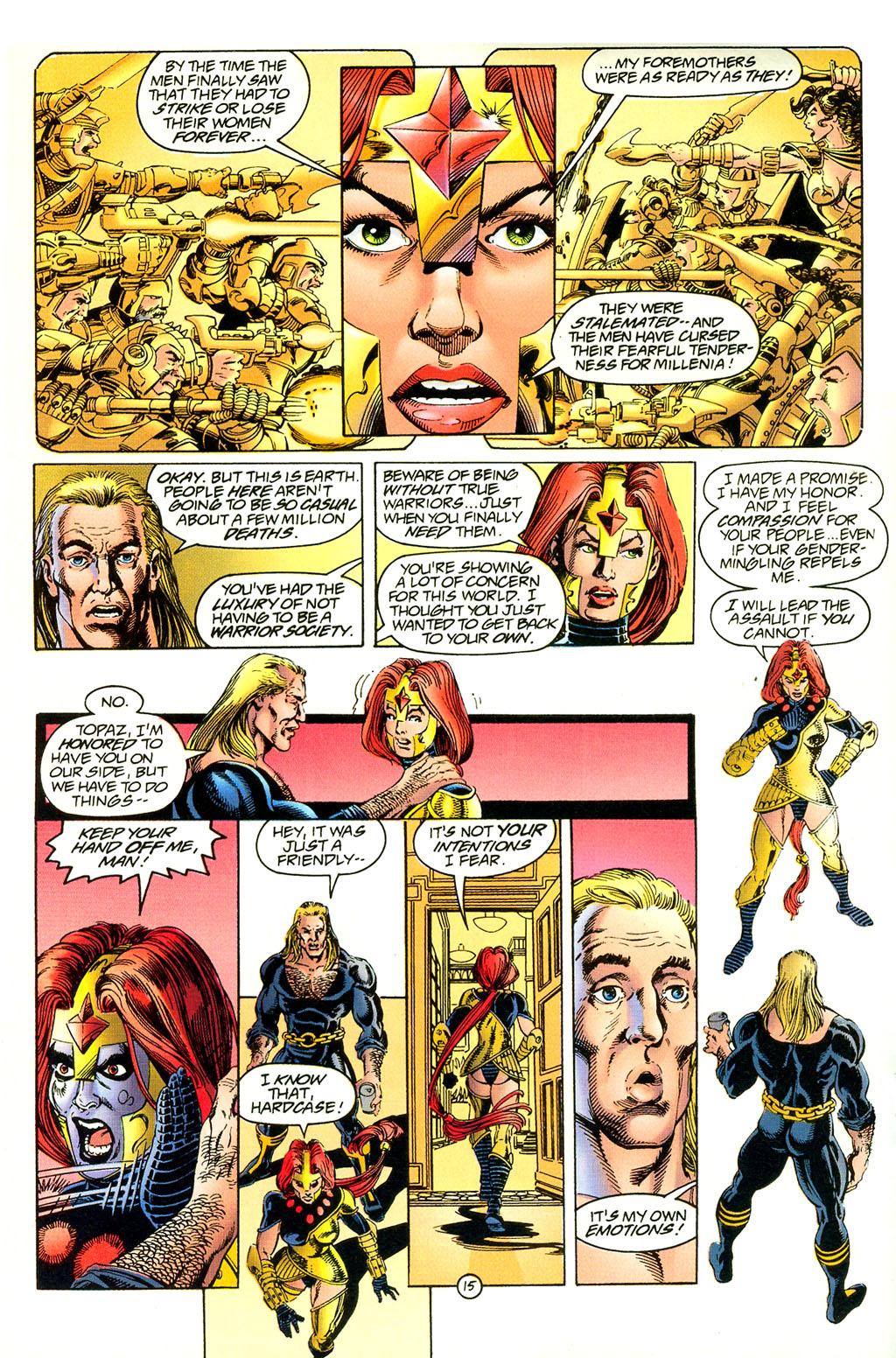 Read online UltraForce (1994) comic -  Issue #4 - 15