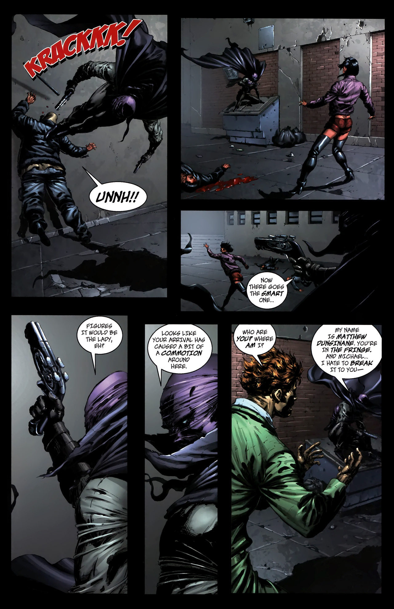 Read online The Grim Ghost comic -  Issue #0 - 14