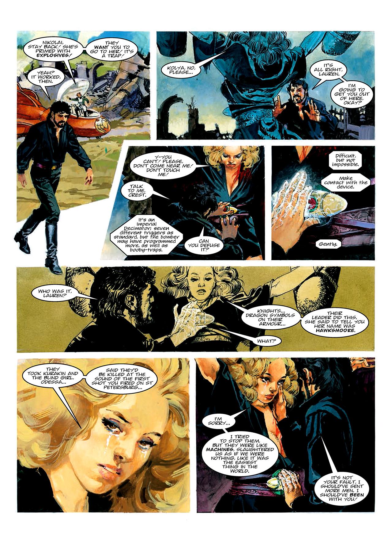Read online Nikolai Dante comic -  Issue # TPB 10 - 44