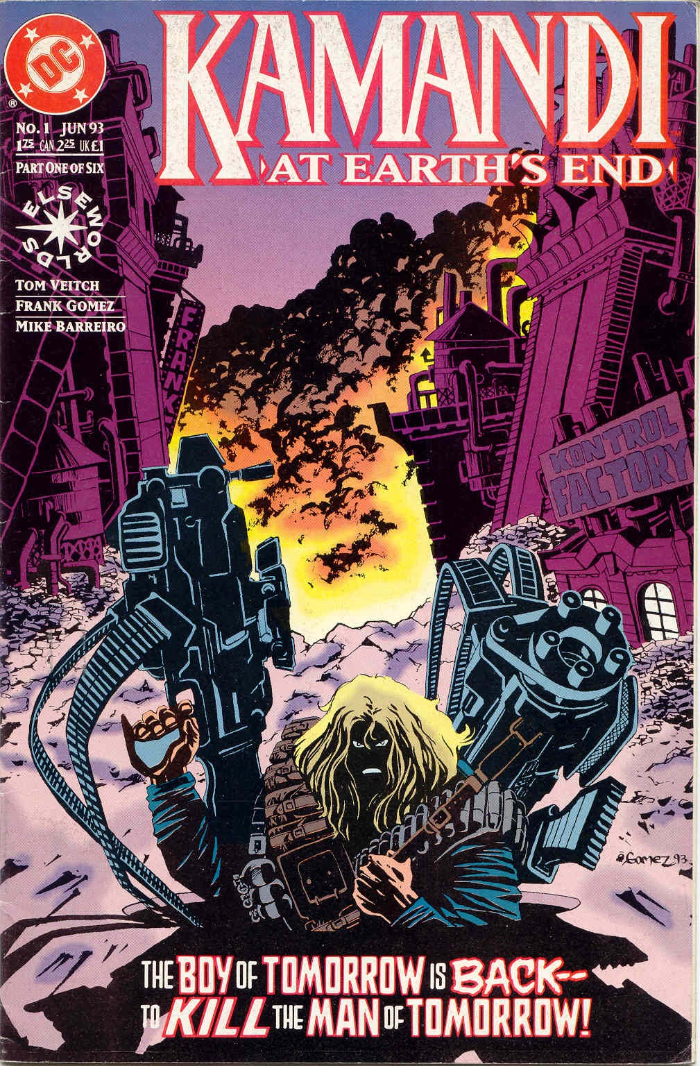 Read online Kamandi: At Earth's End comic -  Issue #1 - 1