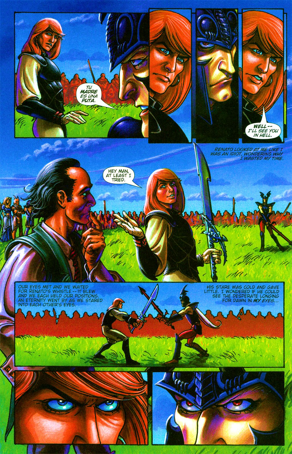 Read online Dawn: Three Tiers comic -  Issue #2 - 7