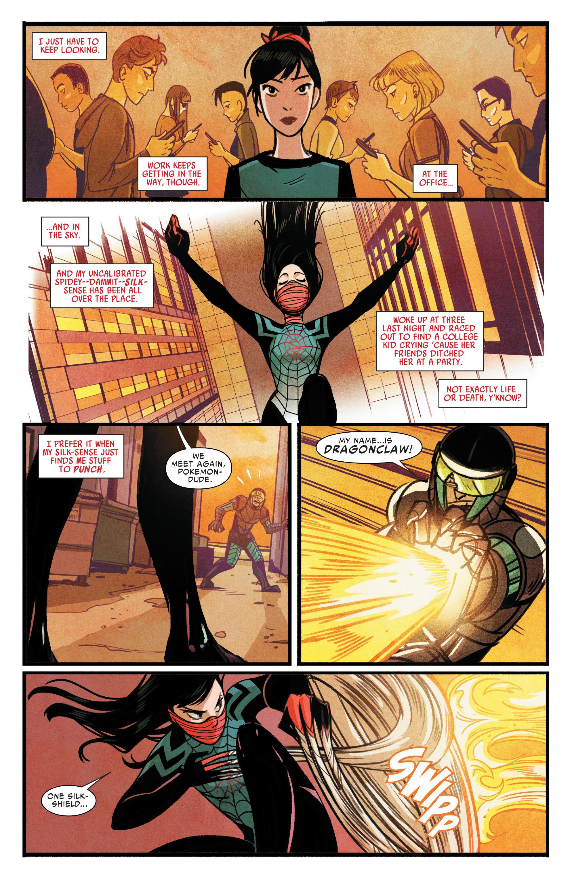 Read online Silk (2015) comic -  Issue #1 - 12