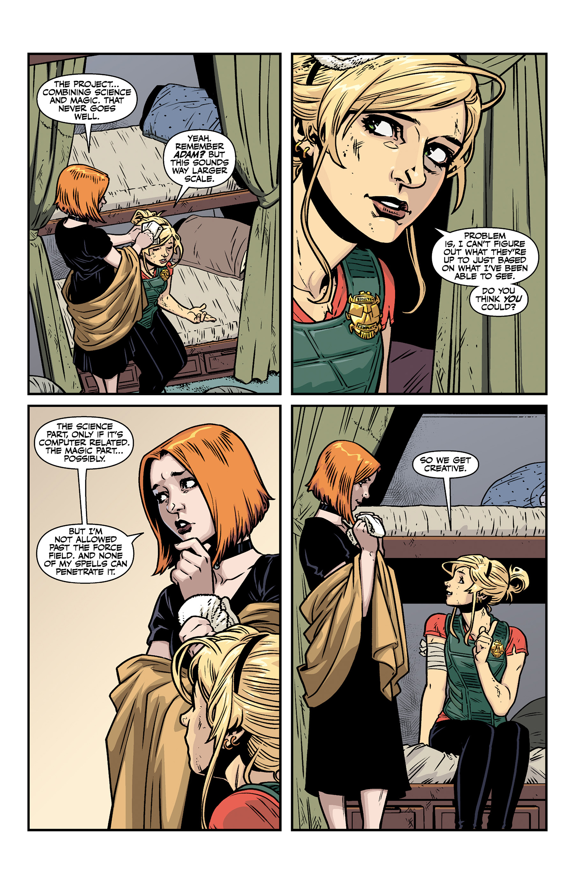 Read online Buffy the Vampire Slayer Season 11 comic -  Issue #6 - 15